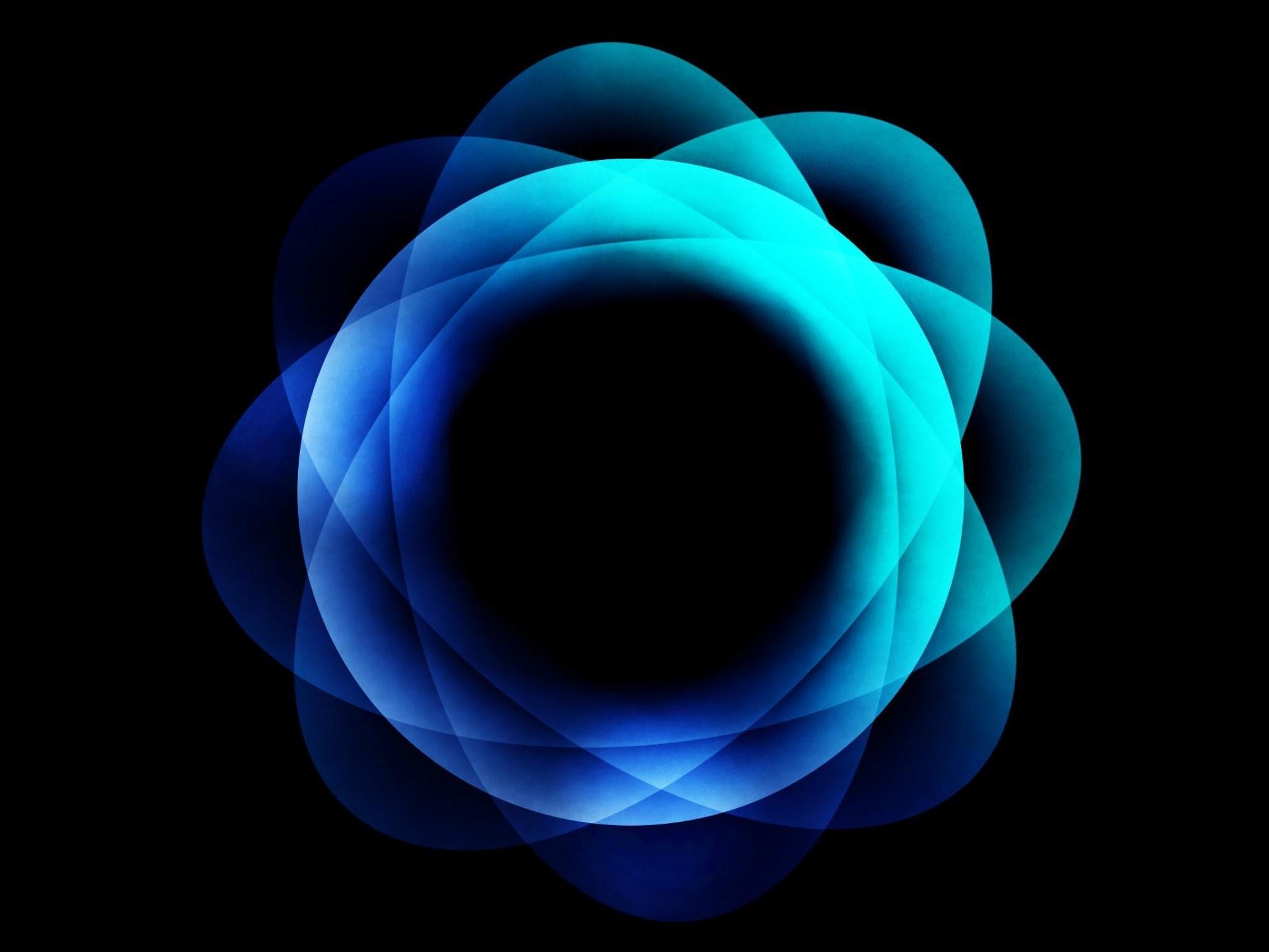 strange blue circle abstract pattern blue blue gimp gimp flowers sun