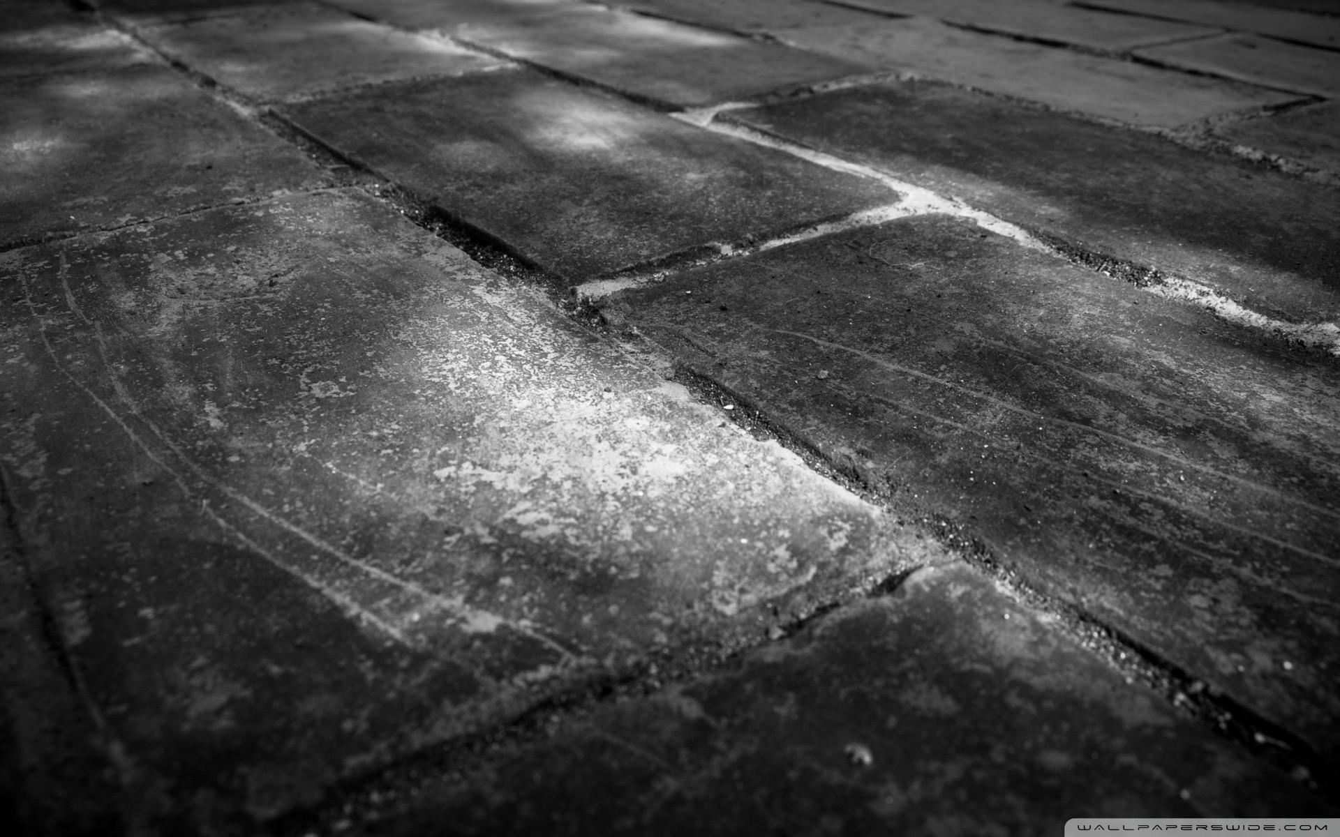 Black And White Brick Wall Wallpaper Bar Basement
