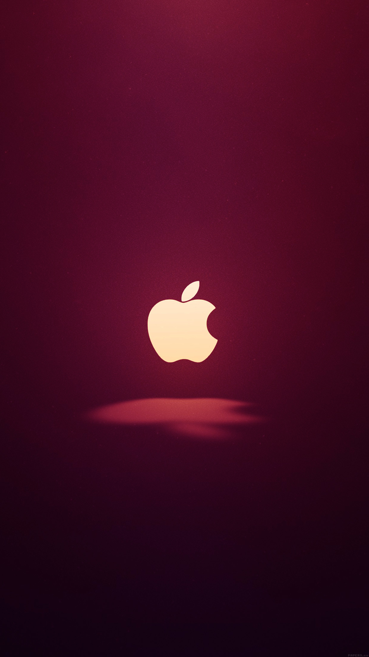 awesome apple-logo-love-mania-wine-red-iphone6-plus
