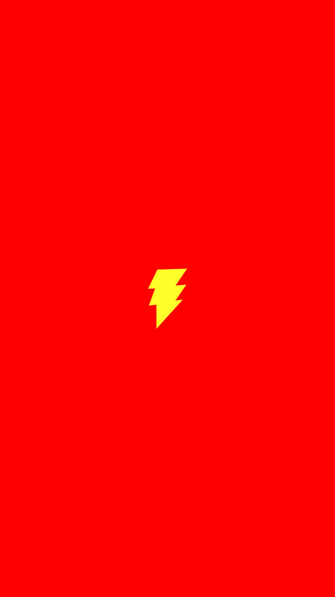 Flash Comic Hero Minimal Red Art Logo #iPhone #6 #plus #wallpaper