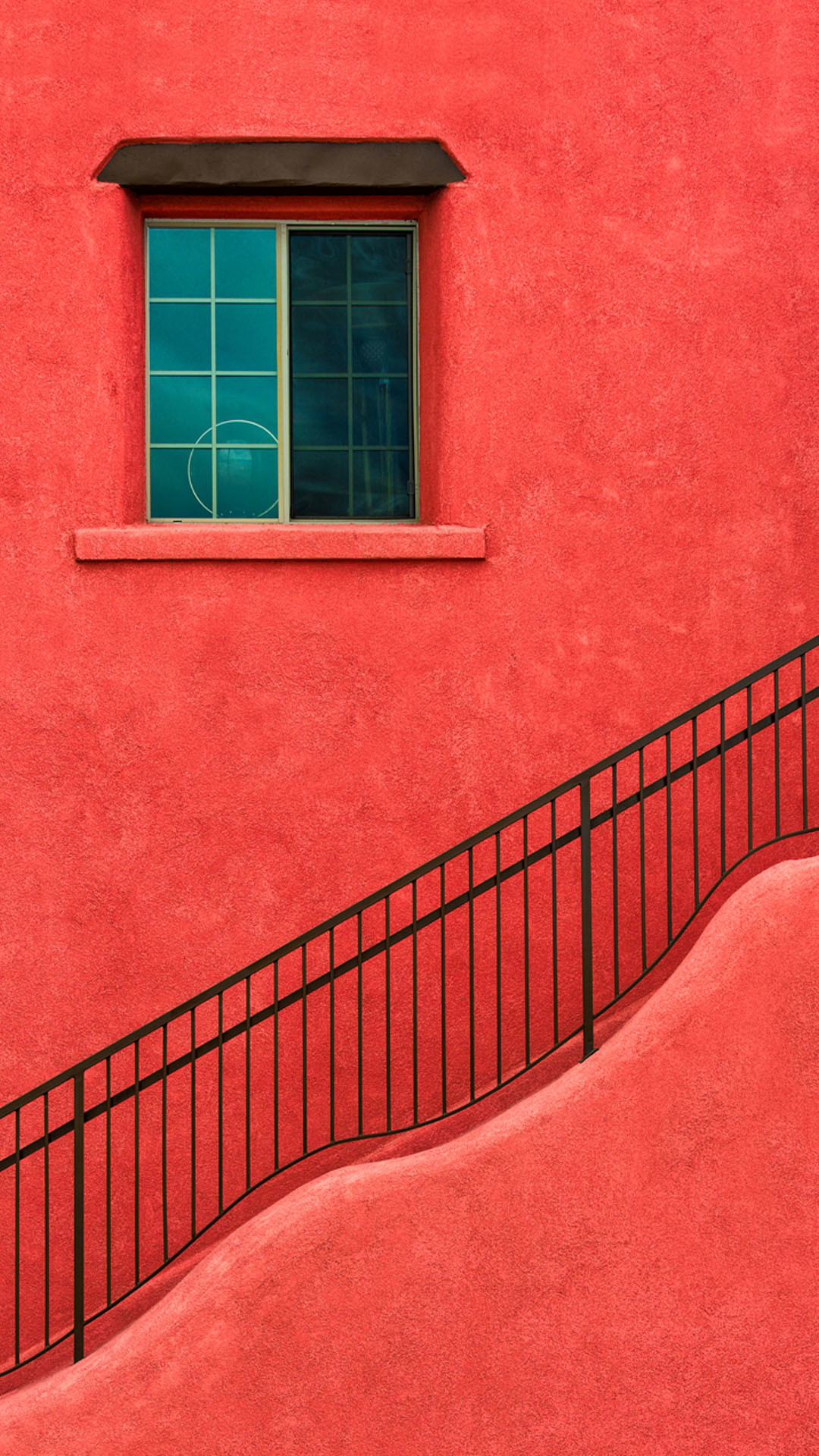 Red House Wall Window Stairs iPhone 6 Plus HD Wallpaper …