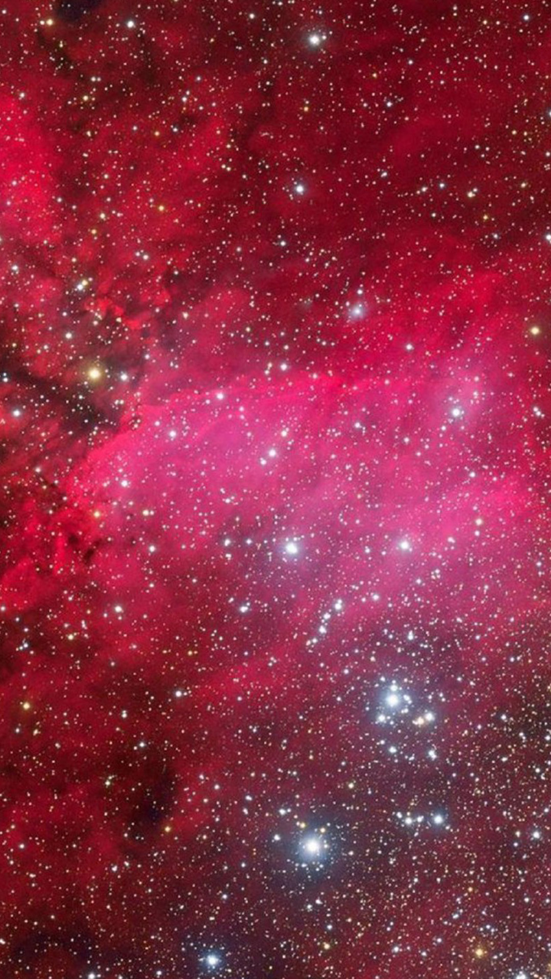 Outer Space Pink Nebula Starry Skyscape #iPhone #6 #plus #wallpaper