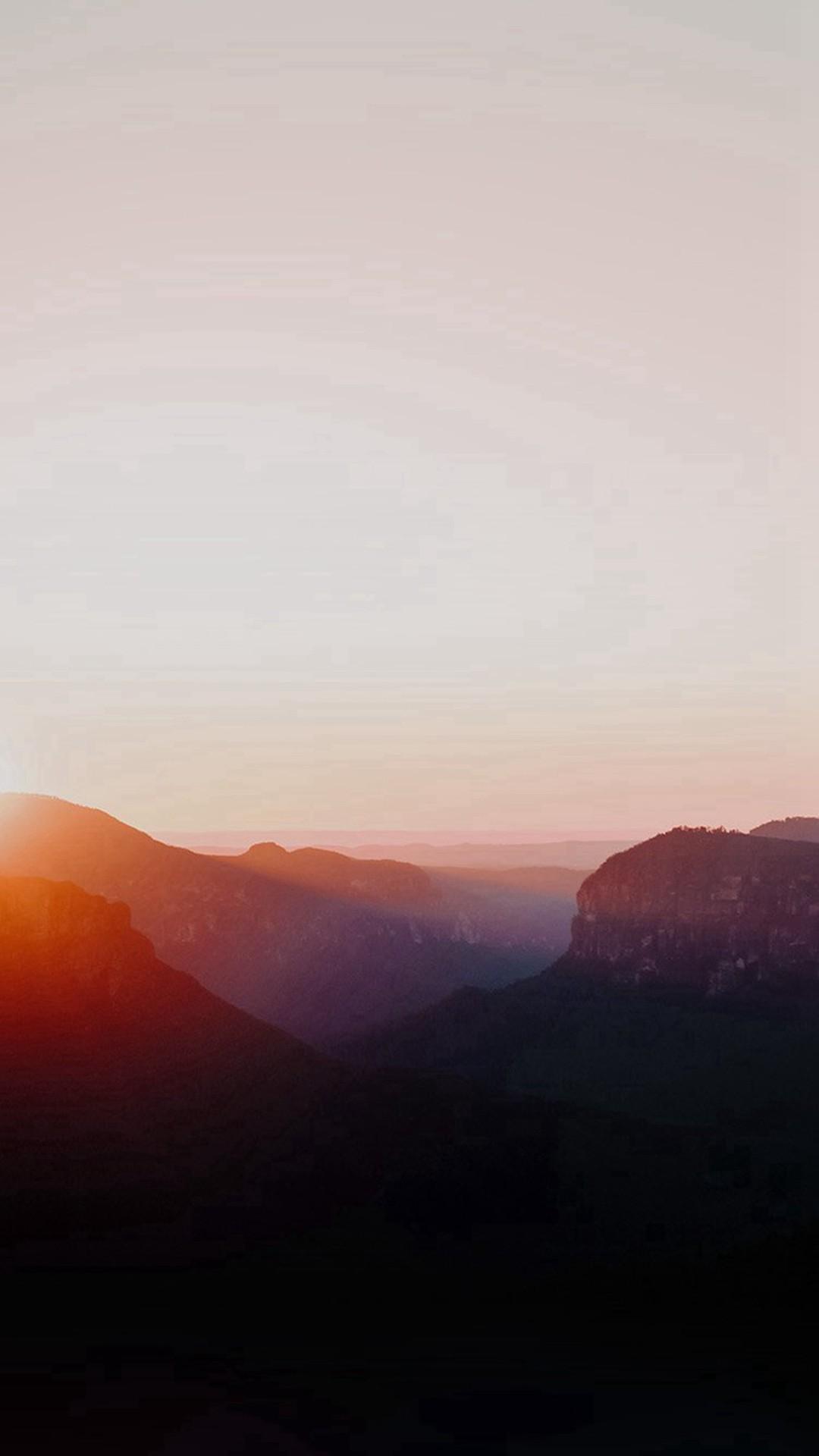 Dawn Dust Sun Rise Morning Shine Red #iPhone #6 #plus #wallpaper