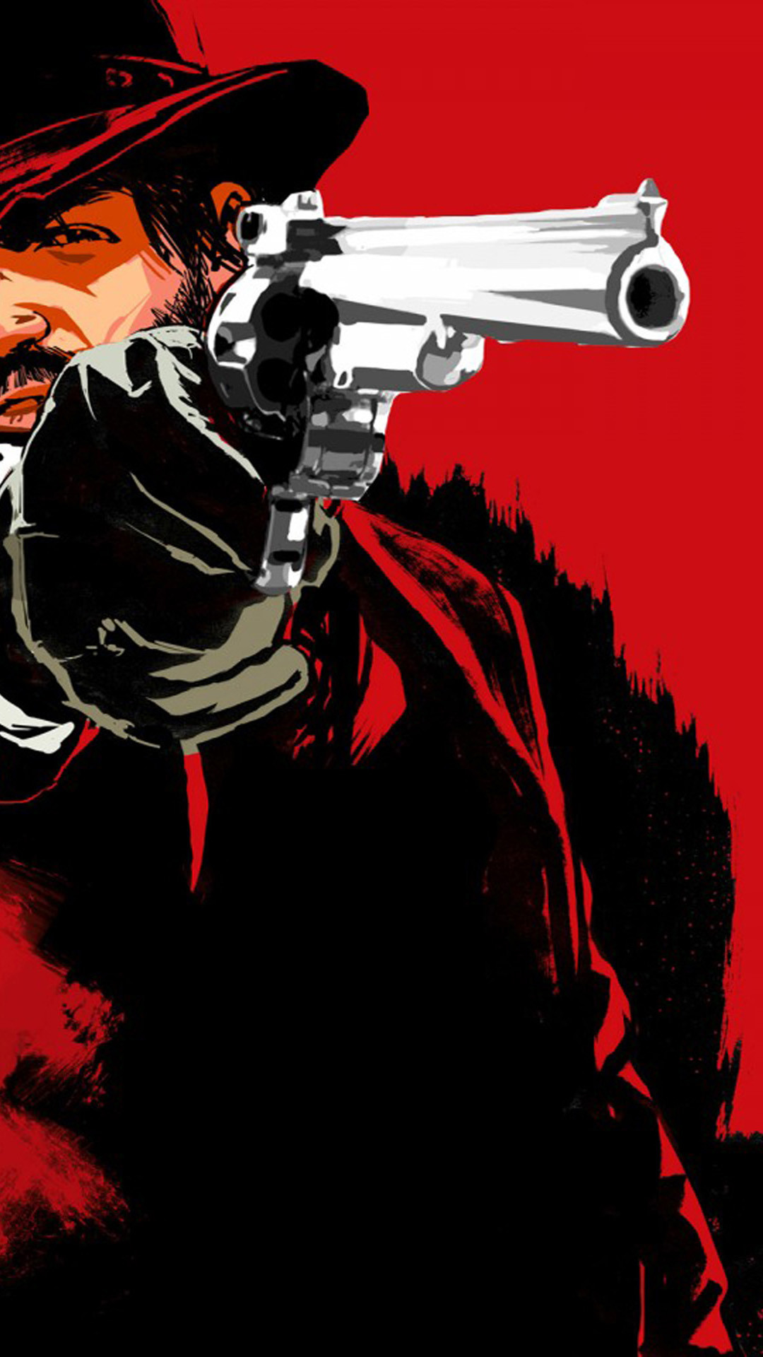 iPhone 6 plus Red Dead Redemption HD Wallpaper