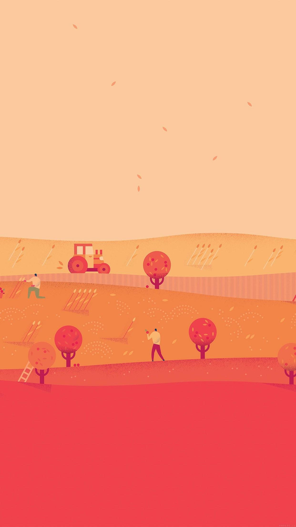 nice google-lollipop-october-red-illust-art-iphone6-plus. Wallpaper …