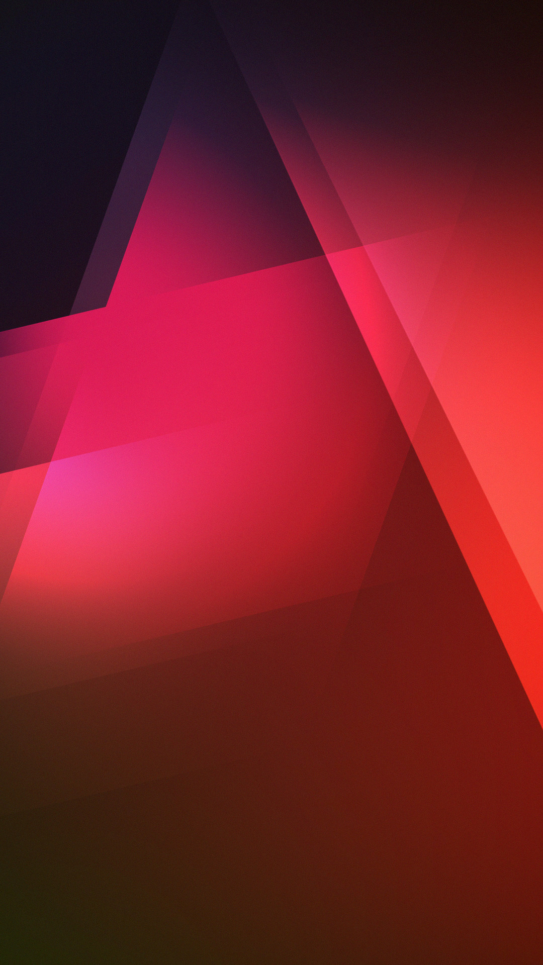 Red Triangles Gradient Shadows iPhone 6 Plus HD Wallpaper …