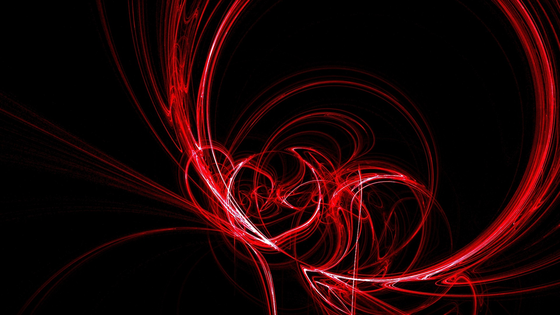 Dark Red Abstract