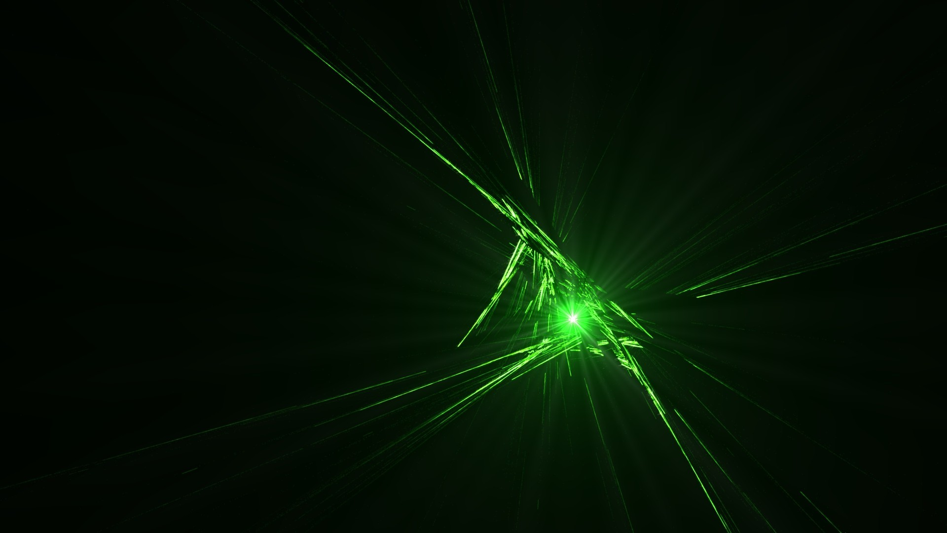 abstract, CGI, Green, Black, Beam Wallpapers HD / Desktop and Mobile  Backgrounds