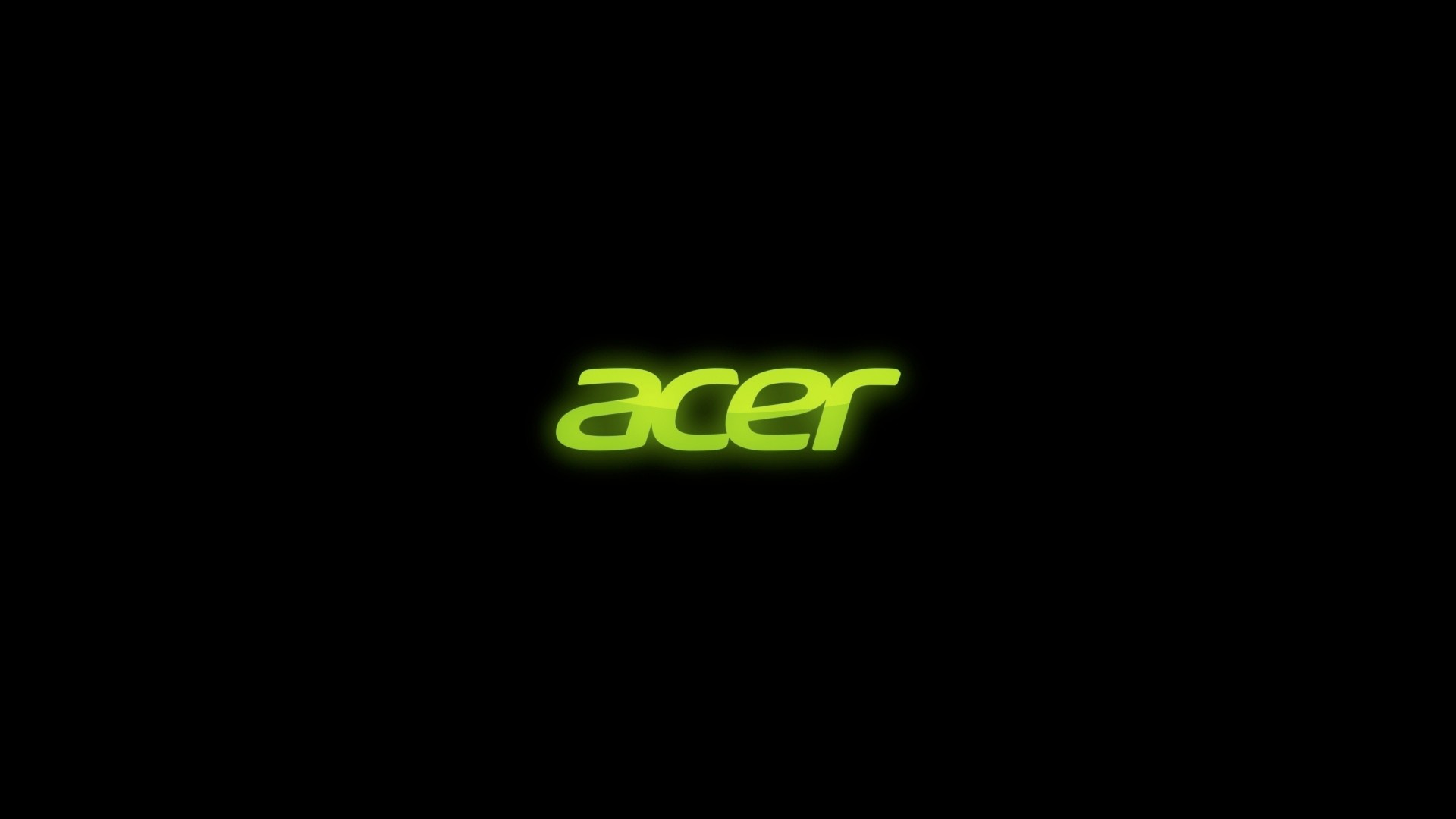 Preview wallpaper acer, firm, green, black 1920×1080