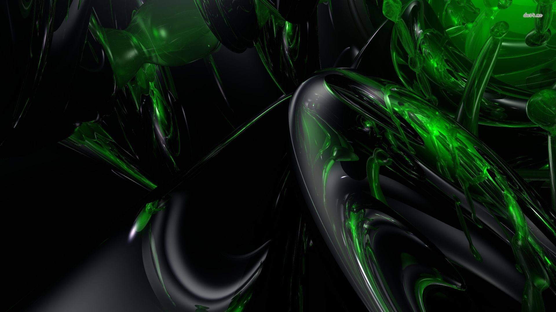 Gallery for – black and green wallpaper