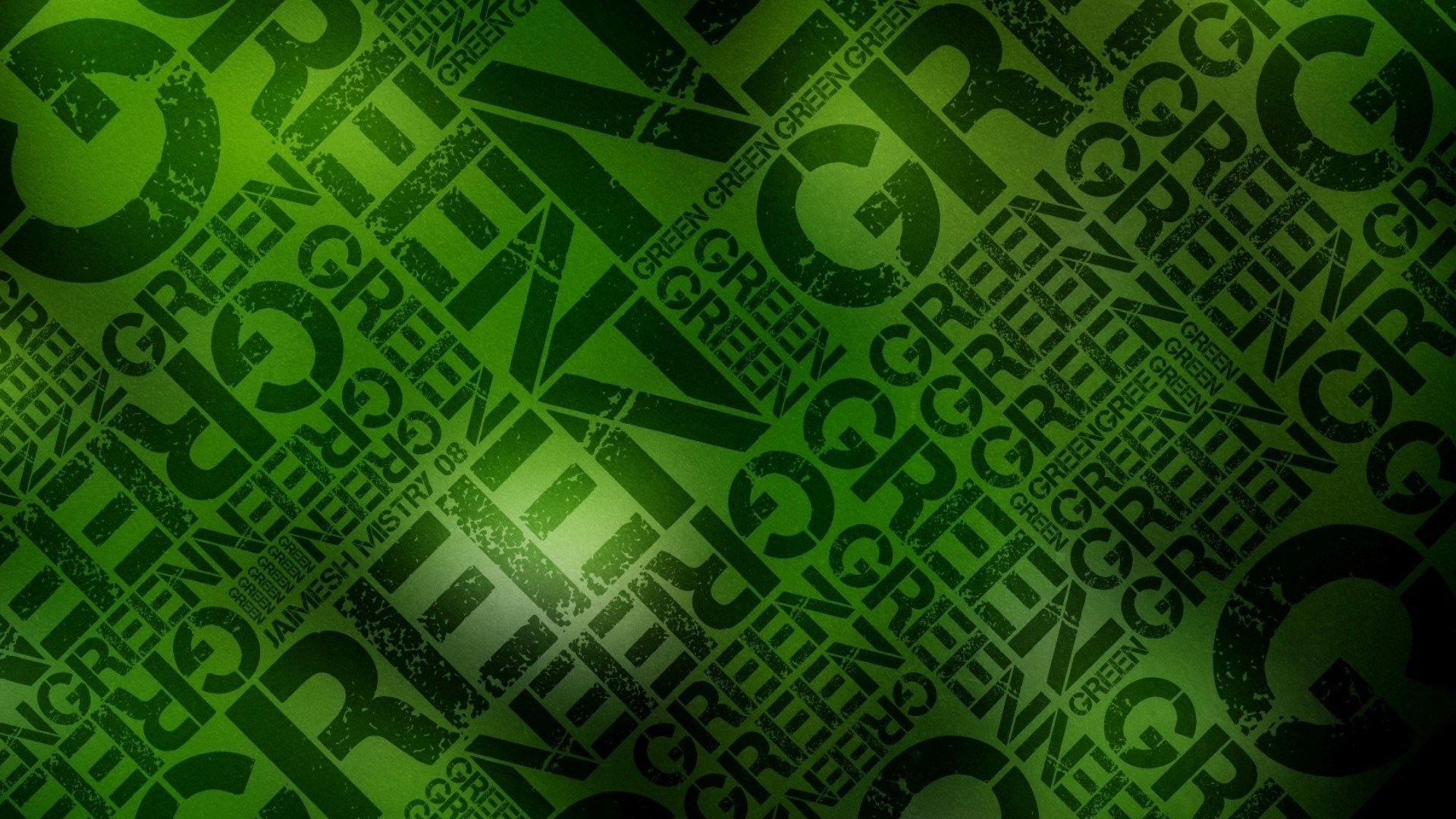 Wallpaper green, black, lettering, wall, letters