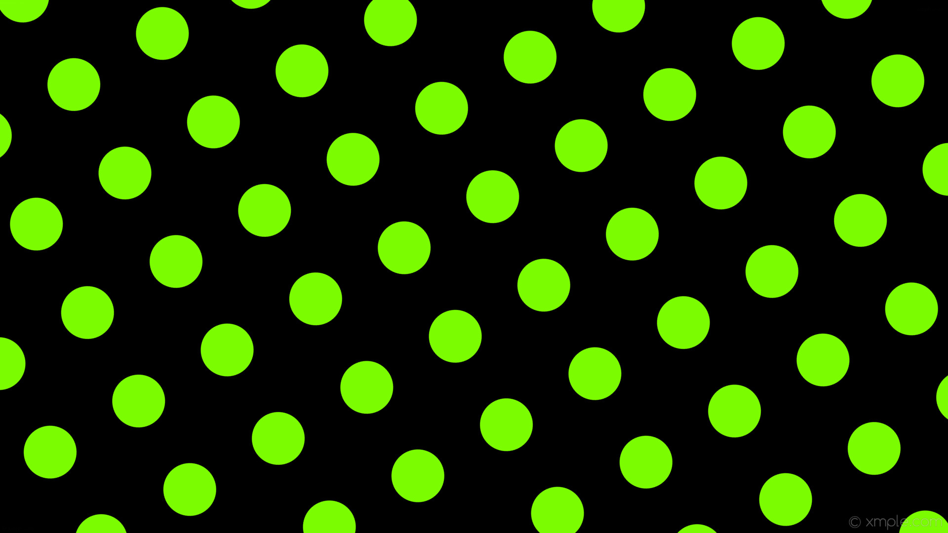 wallpaper spots black green polka dots lawn green #000000 #7cfc00 30° 107px  207px