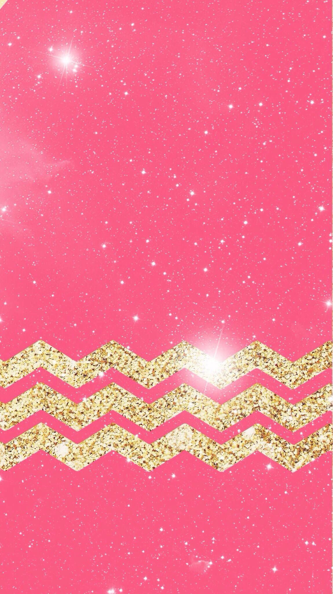 Pink & Glitter, my 2 favorite things