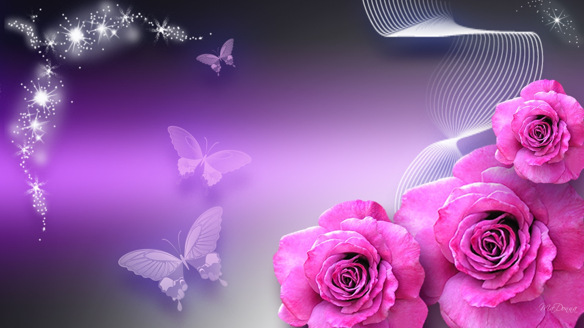 Flowers Pinks Firefox Persona Sparkle Pink Silk Purple Butterflies Summer  Roses Stars New Flower Desktop Wallpaper – 1920×1080