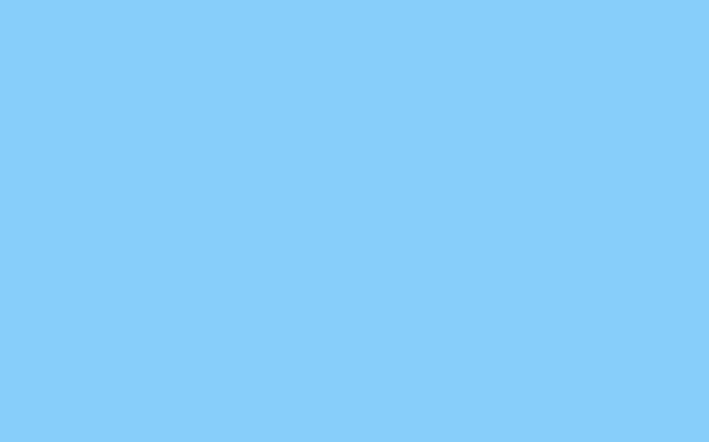 Light Sky Blue Solid Color Background