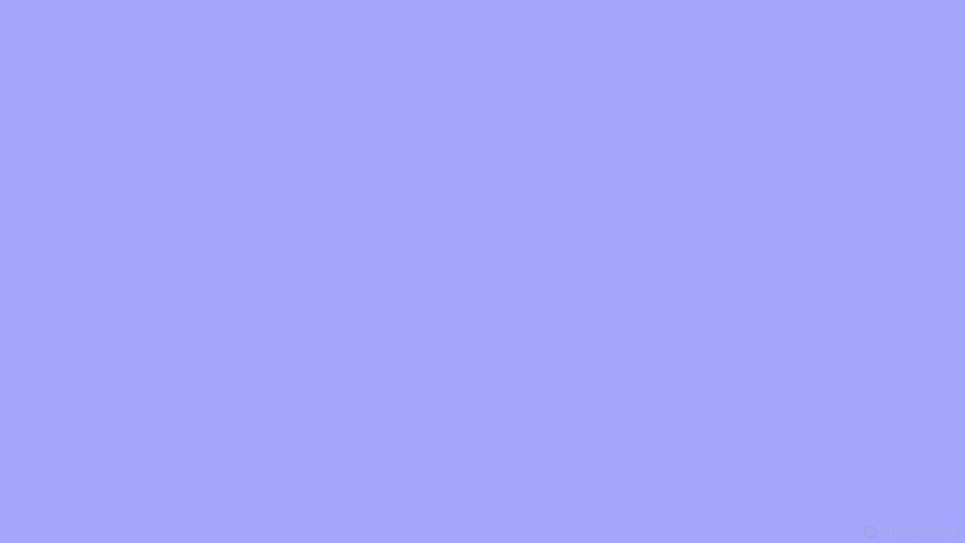 wallpaper single blue plain one colour solid color light blue #a4a5fd