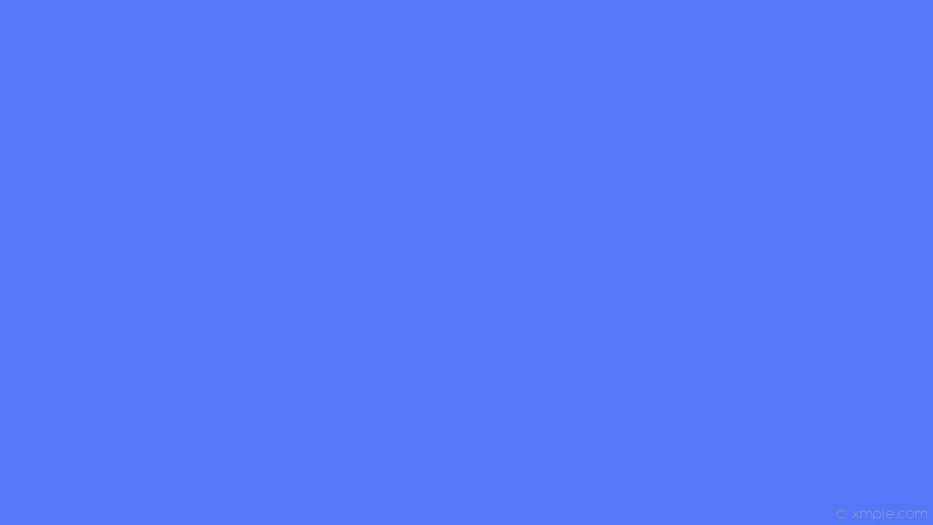 wallpaper one colour plain blue single solid color #5478f8