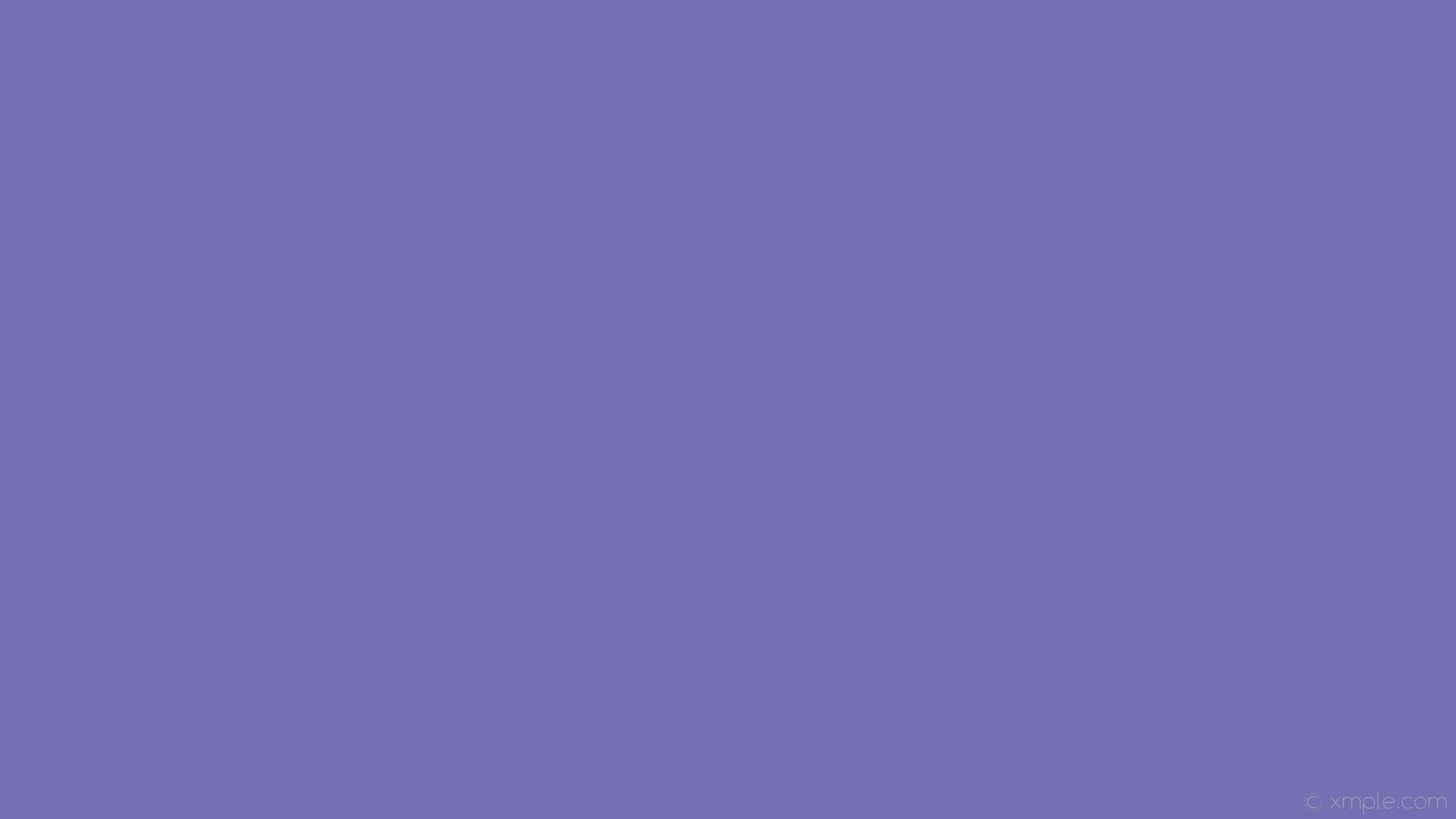 wallpaper one colour solid color plain blue single #7470b3