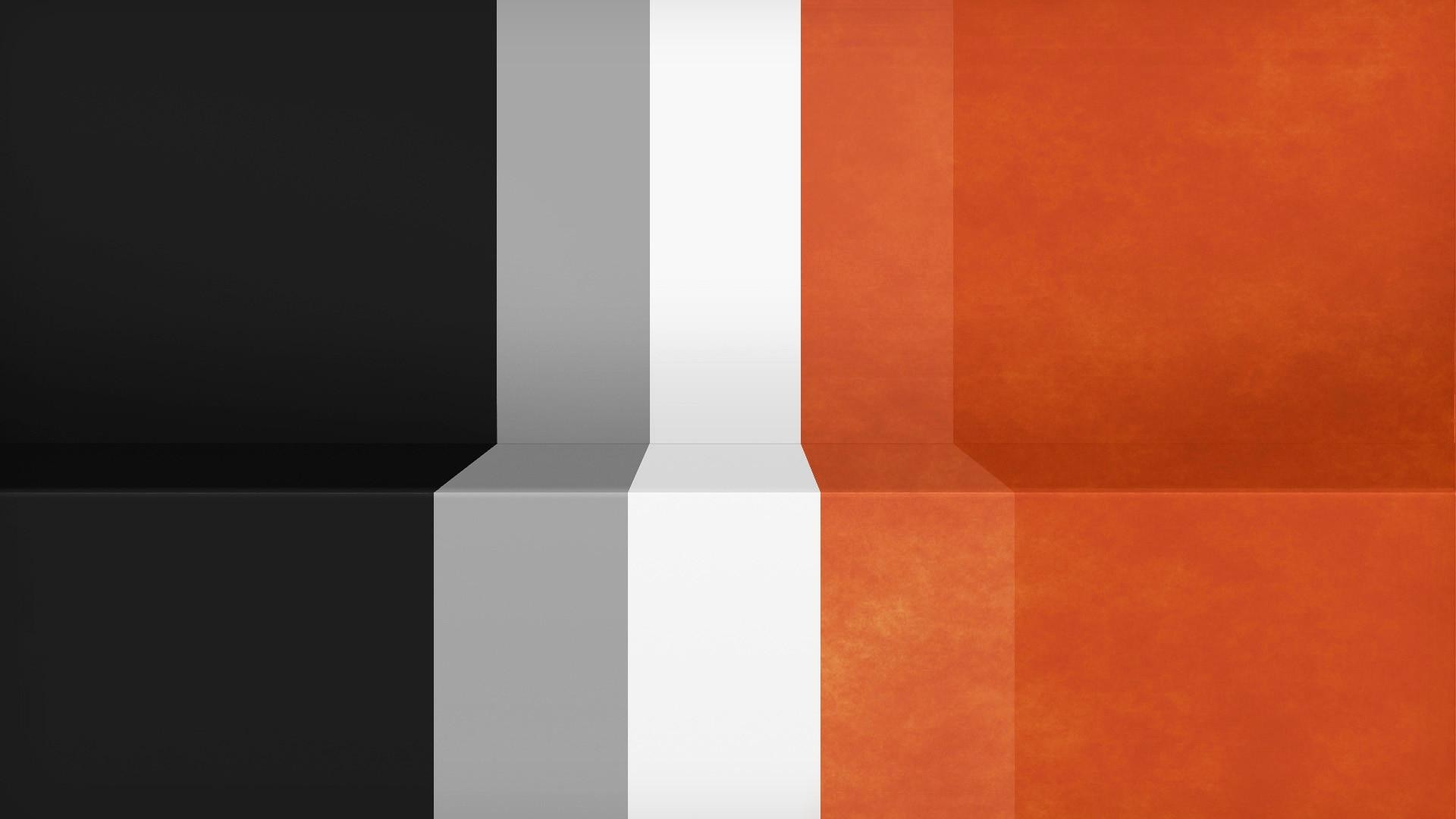 Abstract-black-minimalistic-white-orange-gray -textures-lines-racing-Lack-simple-stripes-Shading-wall-wallpaper-wpt7001680