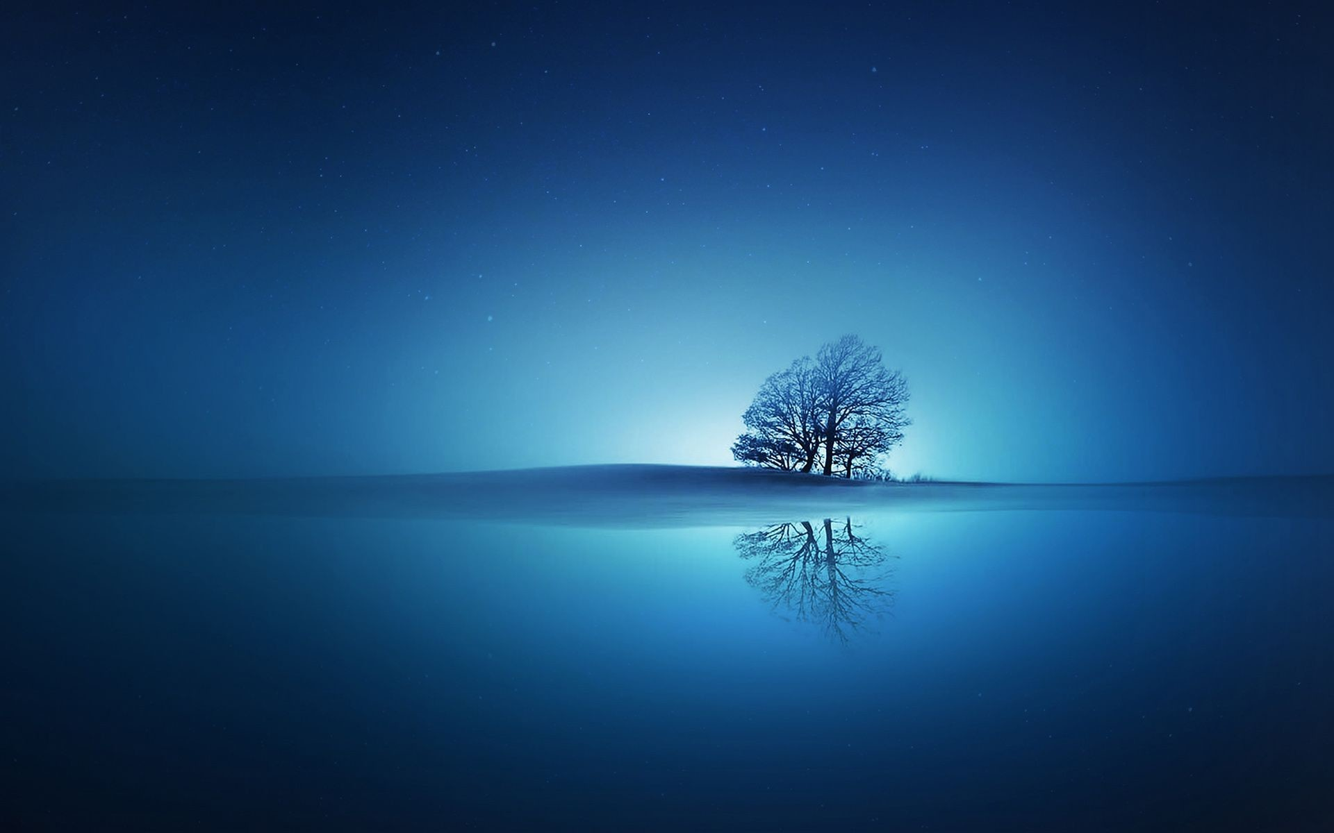 Blue Reflections Wallpapers