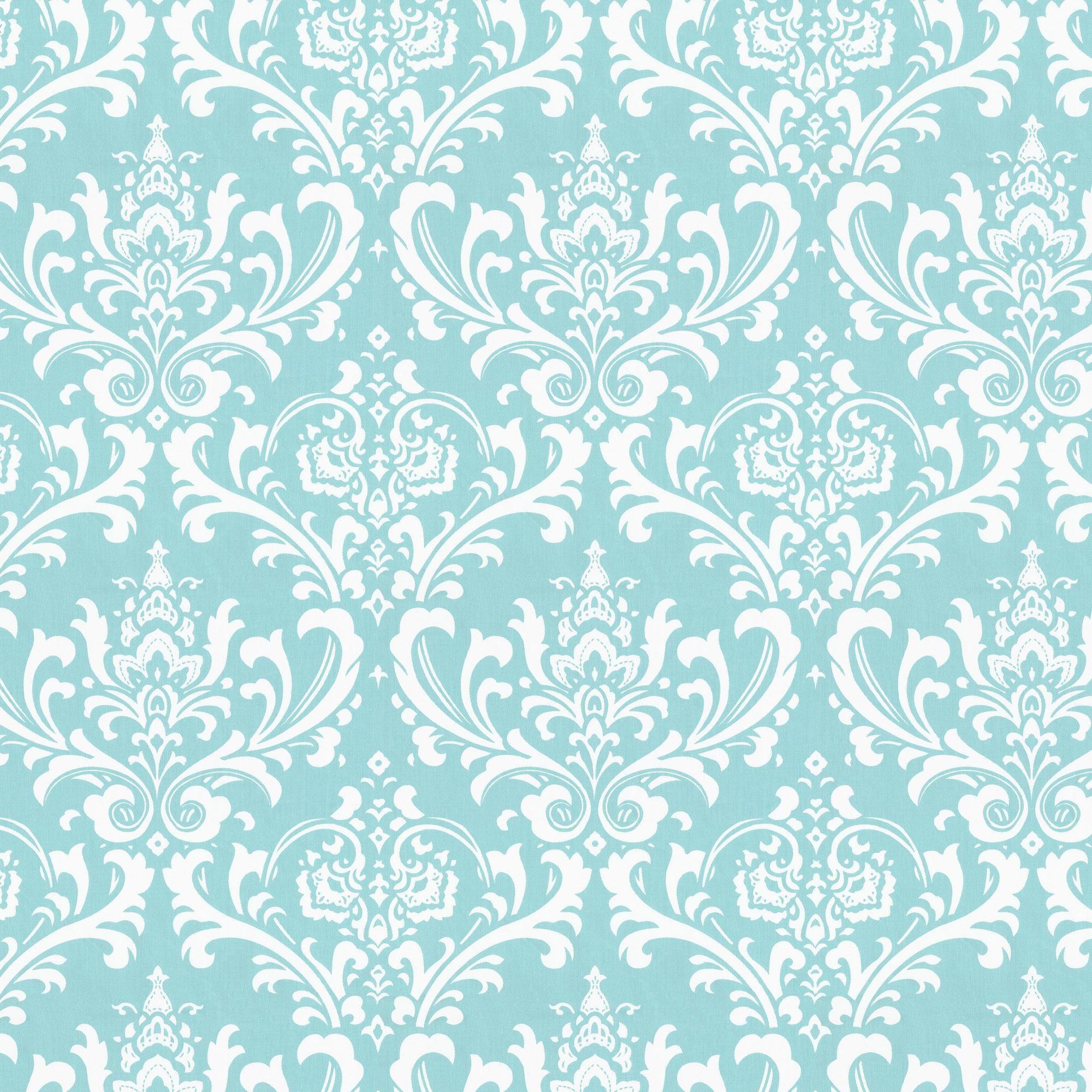 tiffany blue damask wallpaper