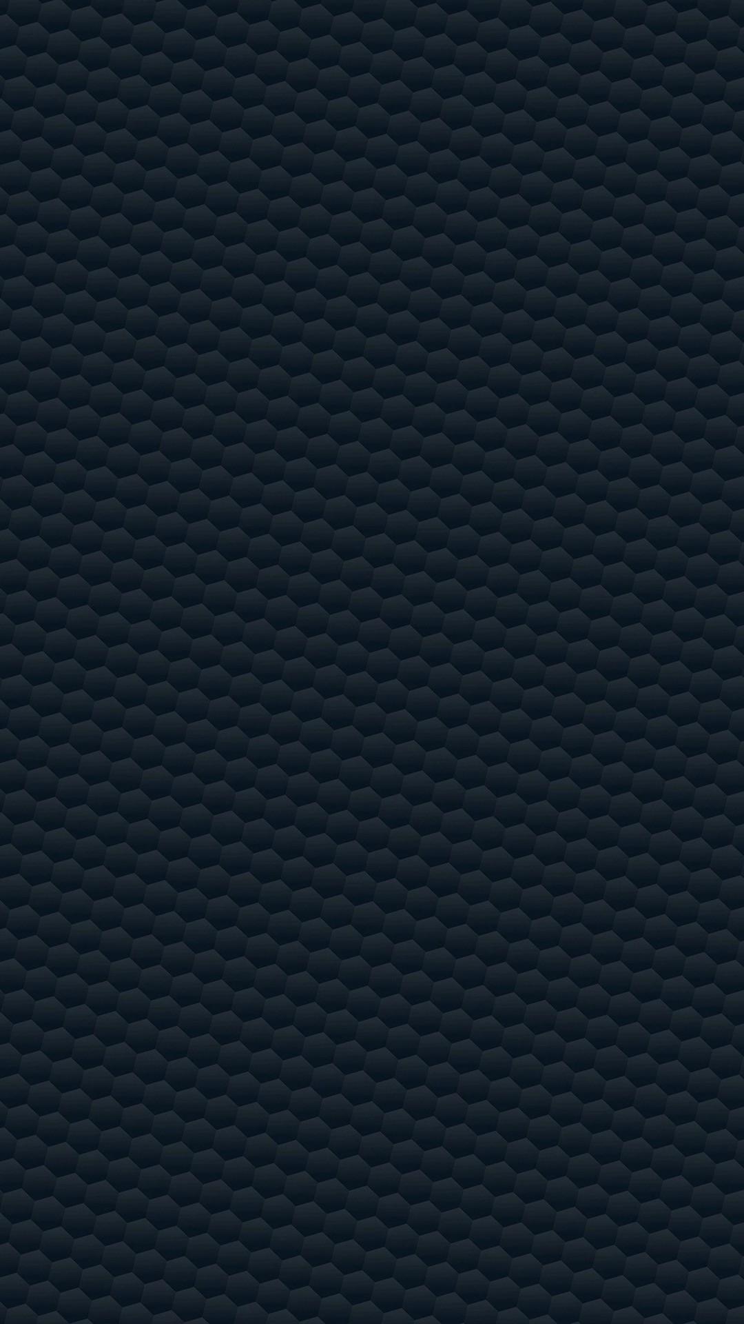 Honeycomb Dark Blue Poly Pattern iPhone 6 wallpaper