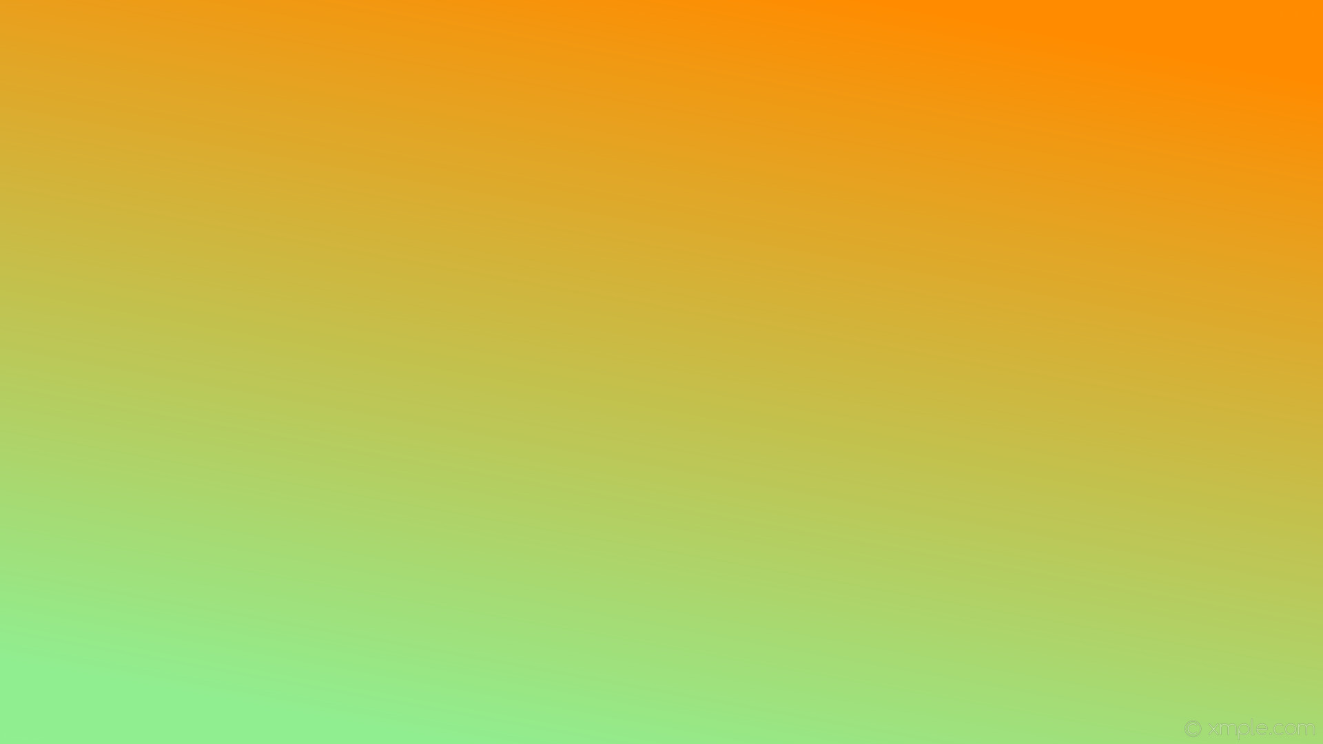 wallpaper green orange linear gradient light green dark orange #90ee90  #ff8c00 240°