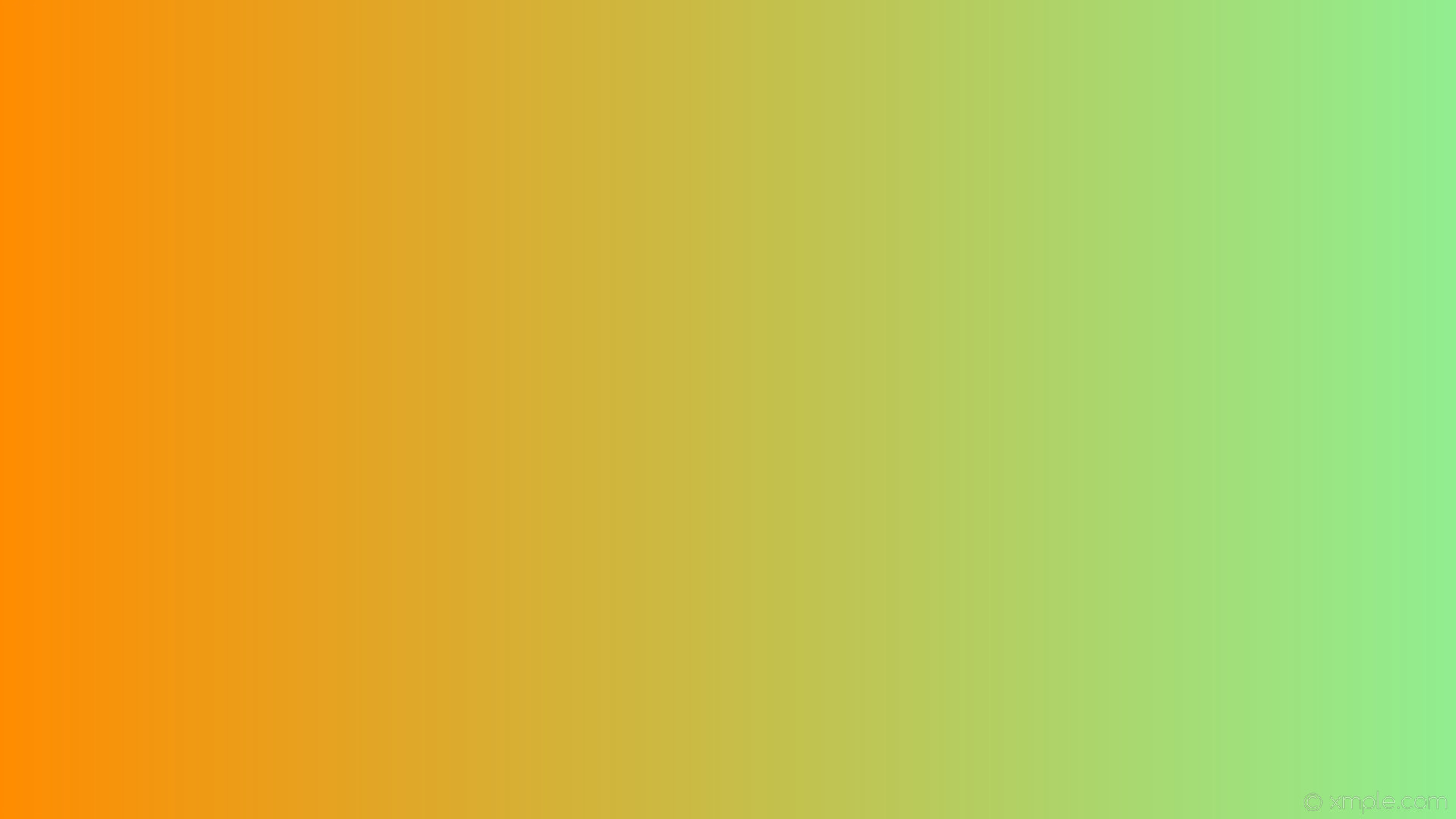 wallpaper linear green orange gradient light green dark orange #90ee90  #ff8c00 0°