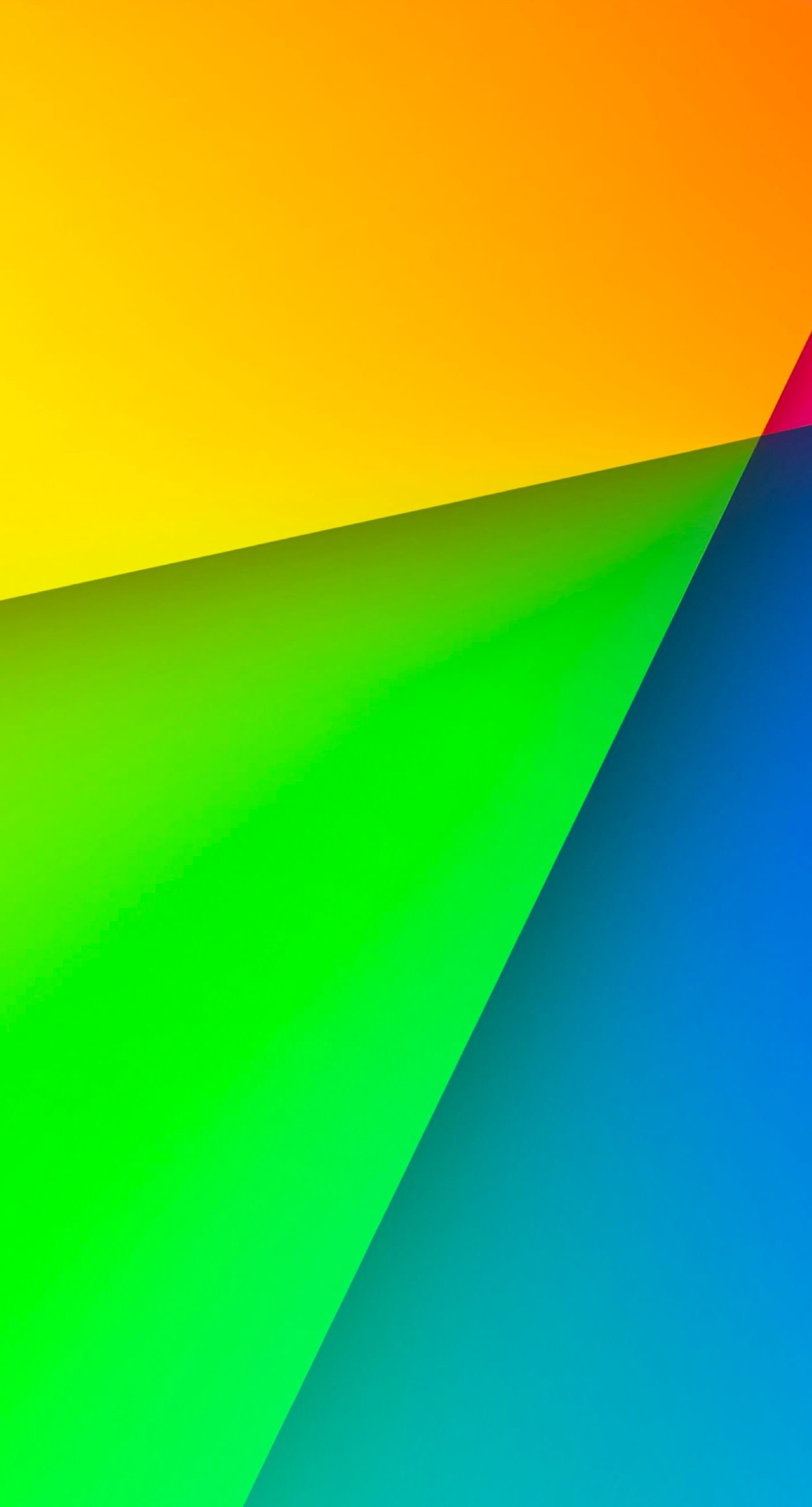 Colorful red, green and blue yellow iPhone7 Plus Wallpaper