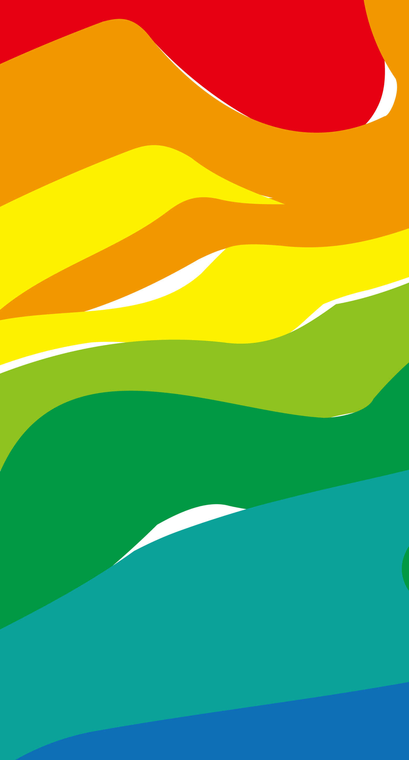 The nearest red orange yellow, green, and blue iPhone6s Plus / iPhone6 Plus  Wallpaper