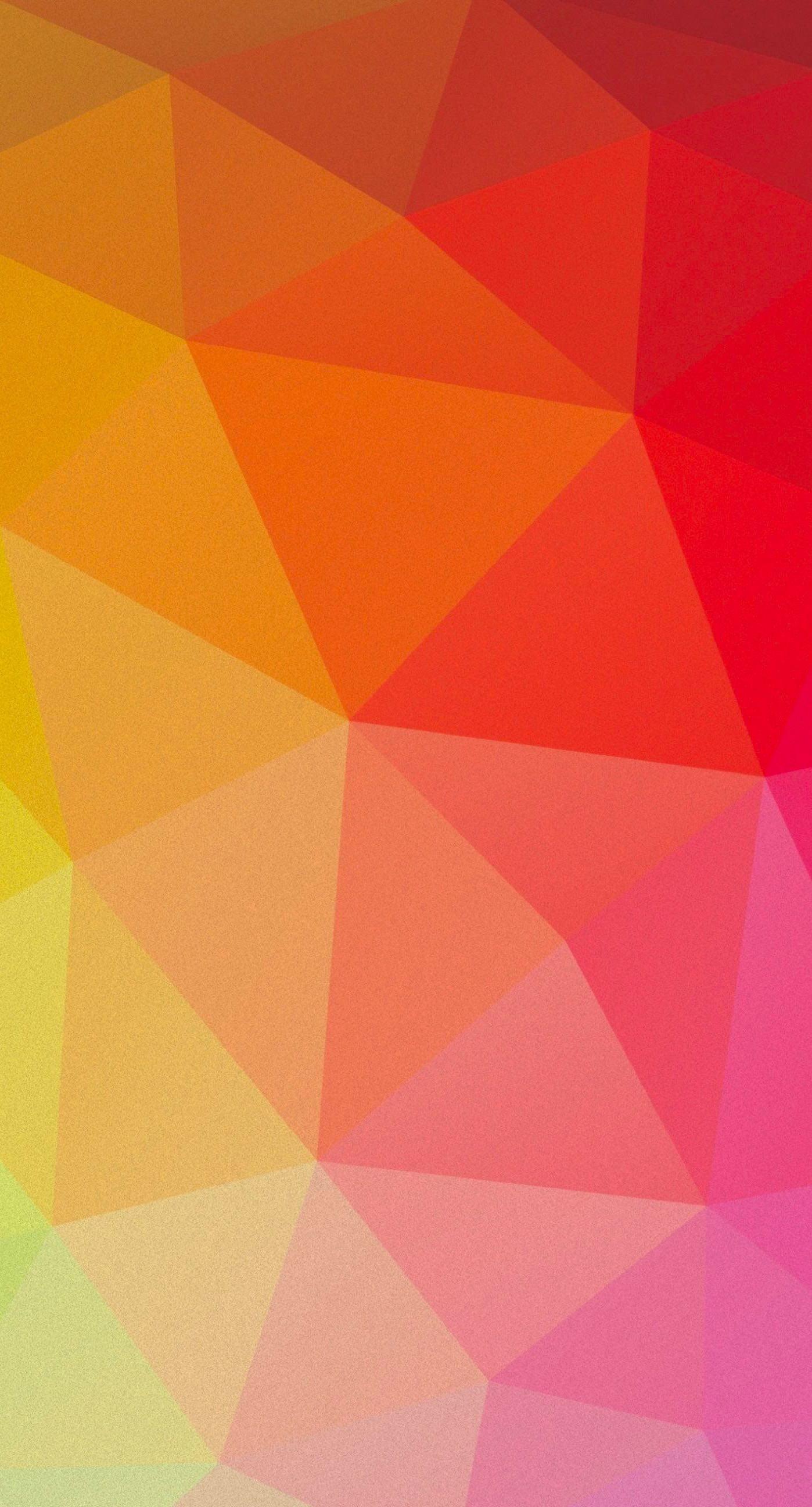 Pattern red orange peach yellow green | wallpaper.sc iPhone6Plus