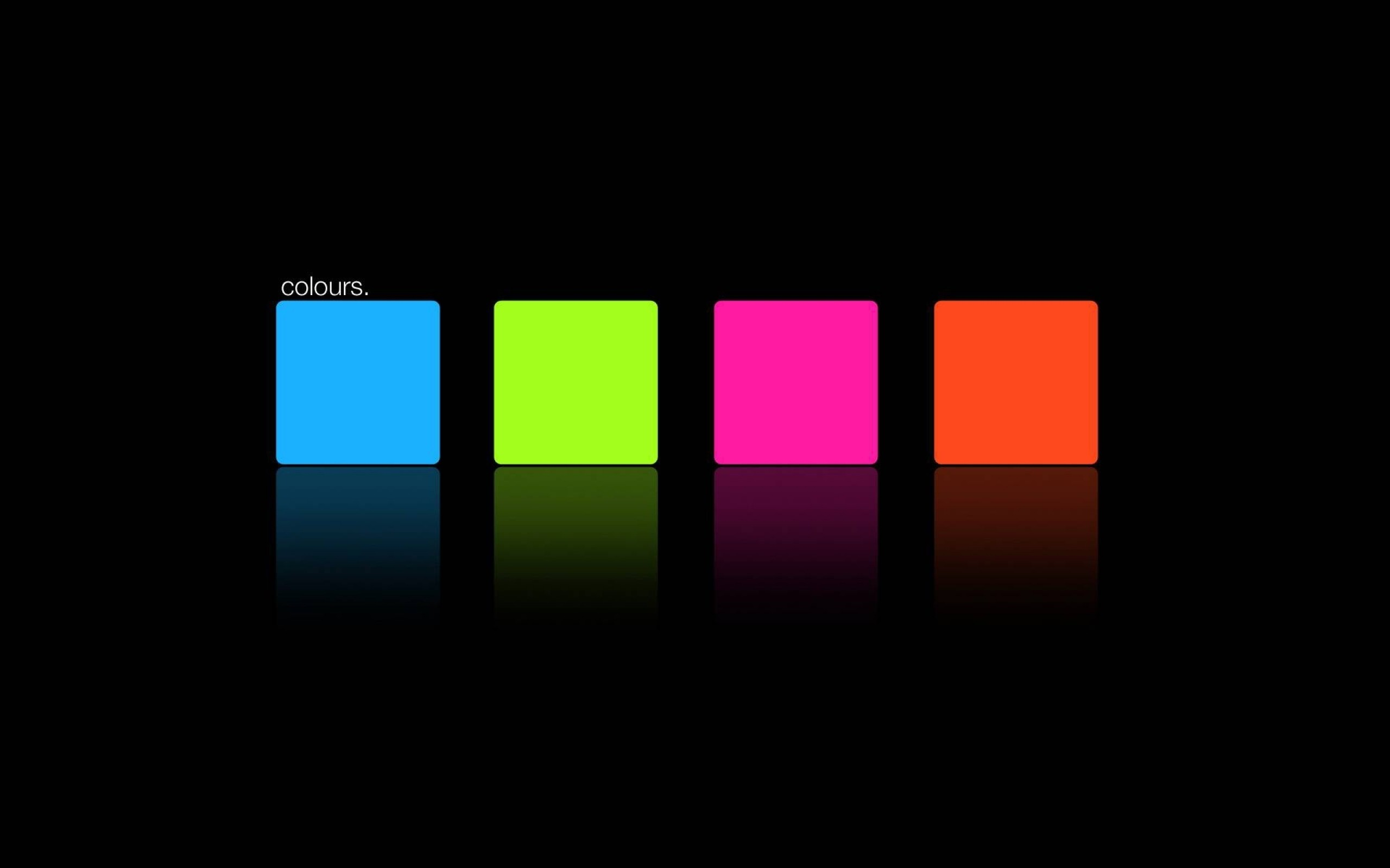 Wallpaper blue, pink, orange, green, square