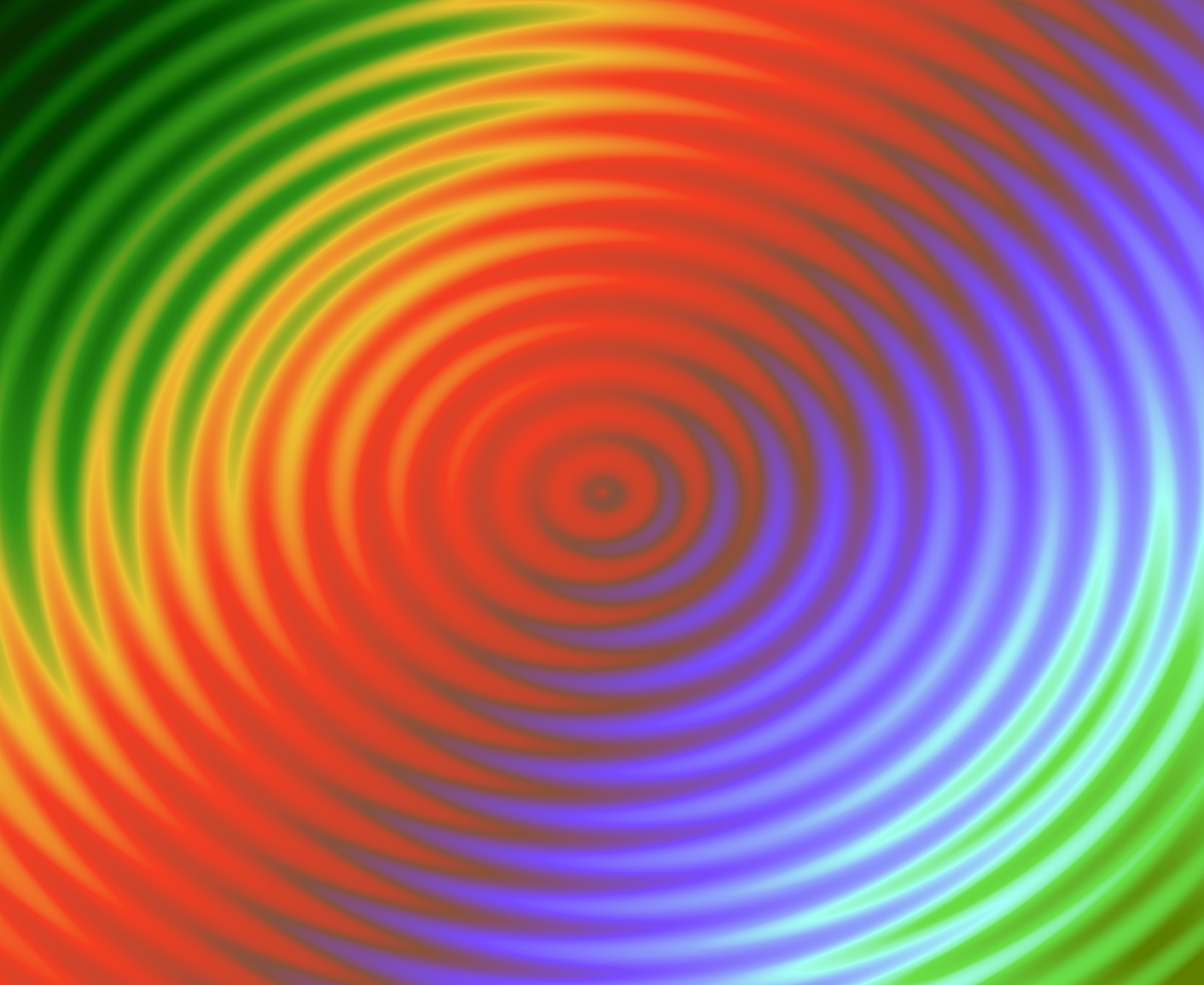 wave atmosphere line green color circle background image rainbow rings  shape repetition waves circles computer wallpaper