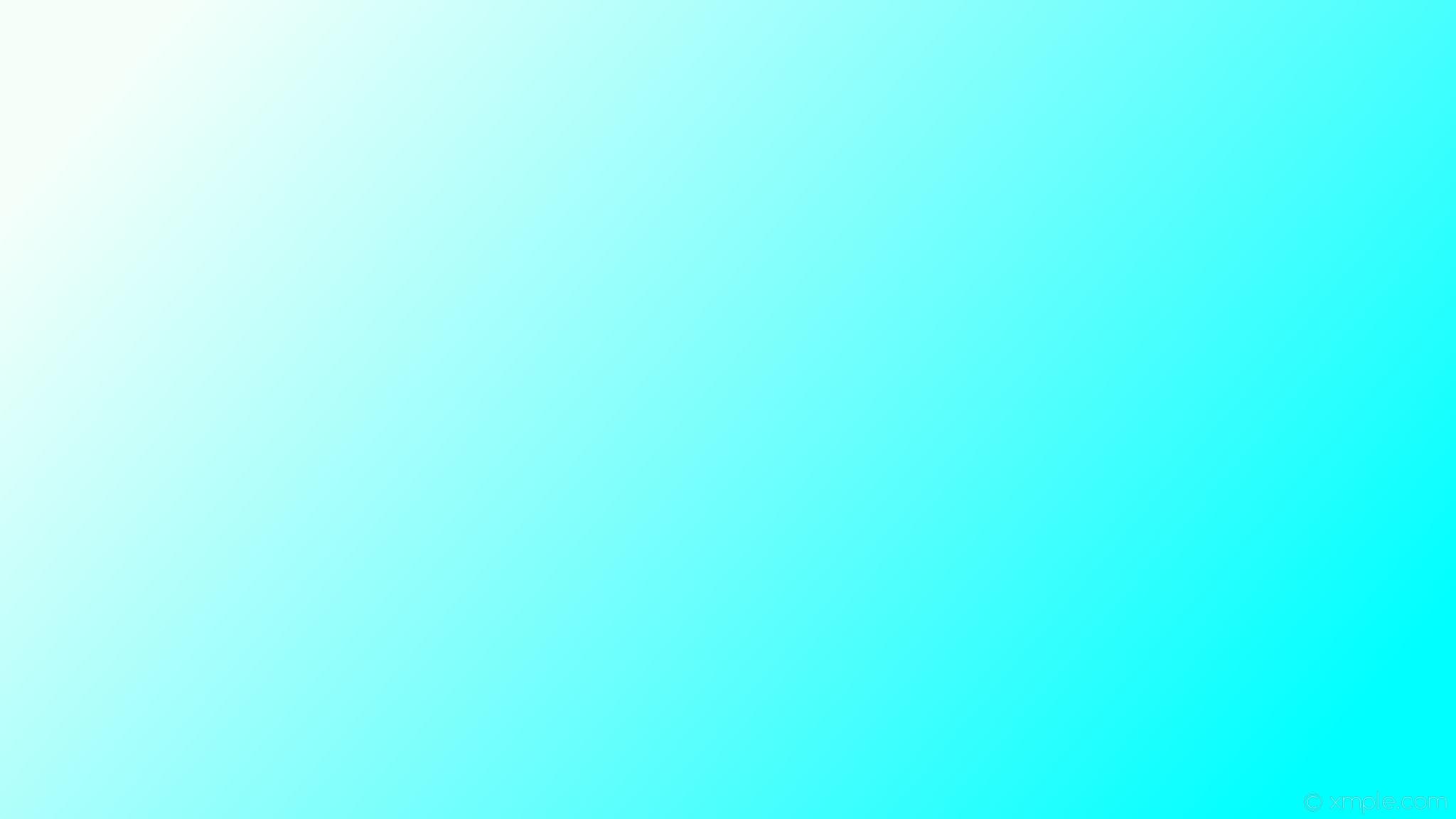 wallpaper linear gradient blue white mint cream aqua cyan #f5fffa #00ffff  165°