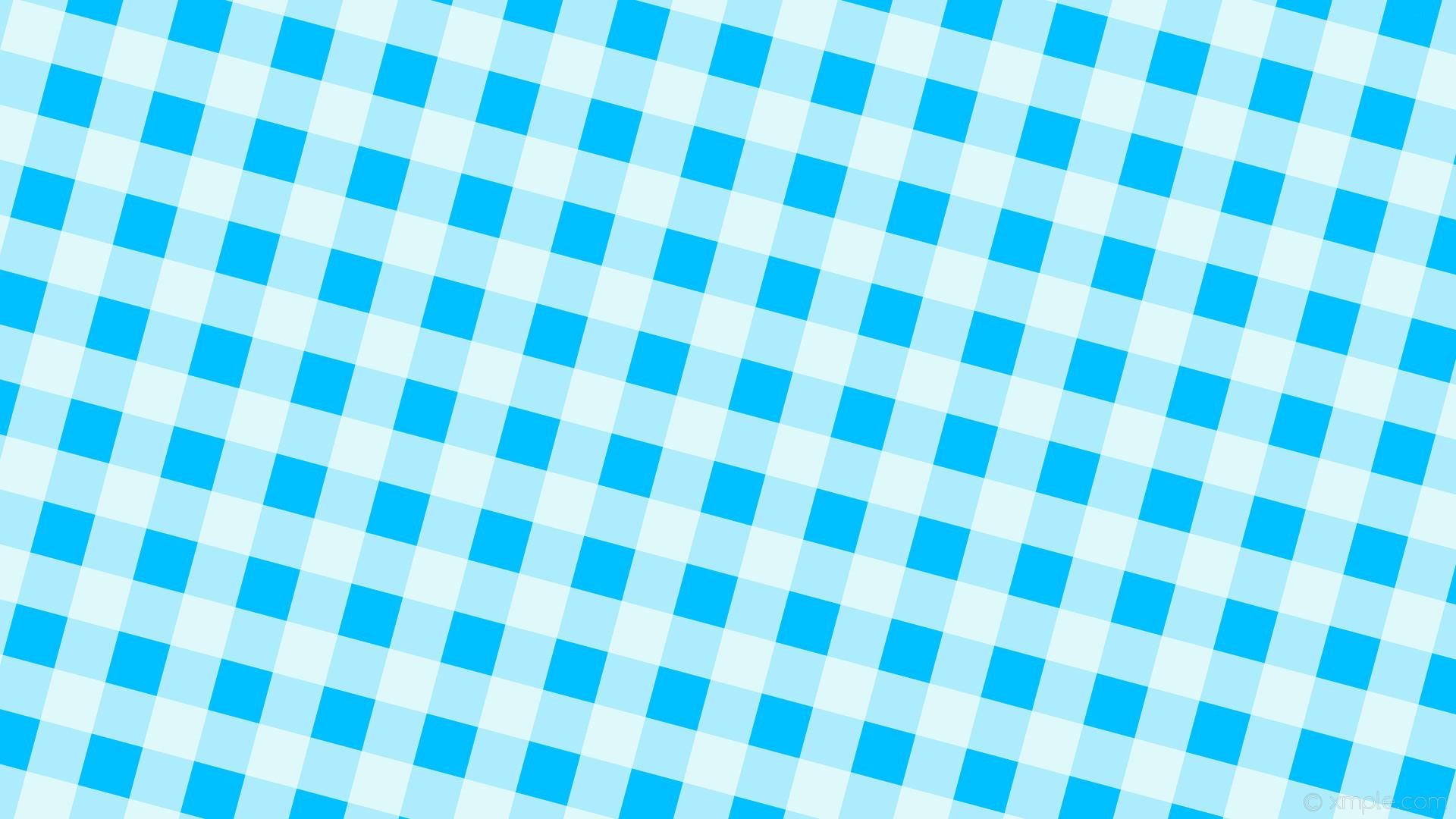 wallpaper striped blue checker white gingham deep sky blue mint cream  #00bfff #f5fffa 255