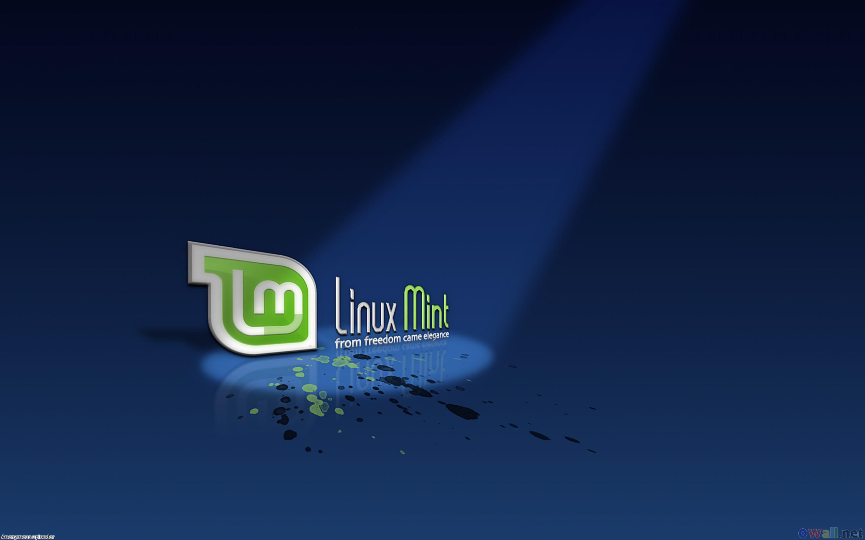 Wallpaper Wallpaper Linux Mint Logo