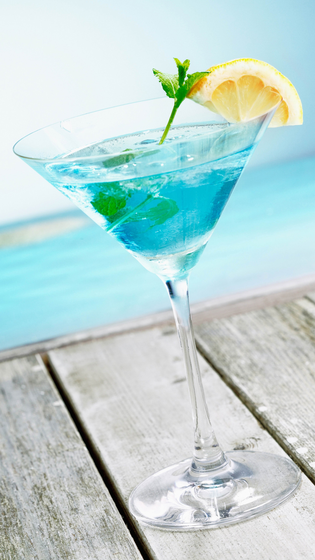 Mint Cocktail Blue Pool Android Wallpaper …