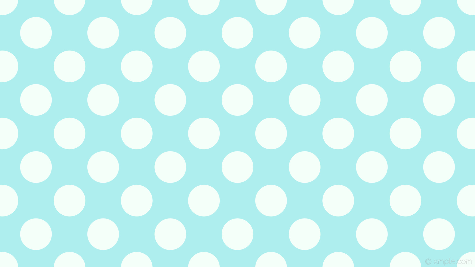 wallpaper white dots blue spots polka pale turquoise mint cream #afeeee  #f5fffa 315°
