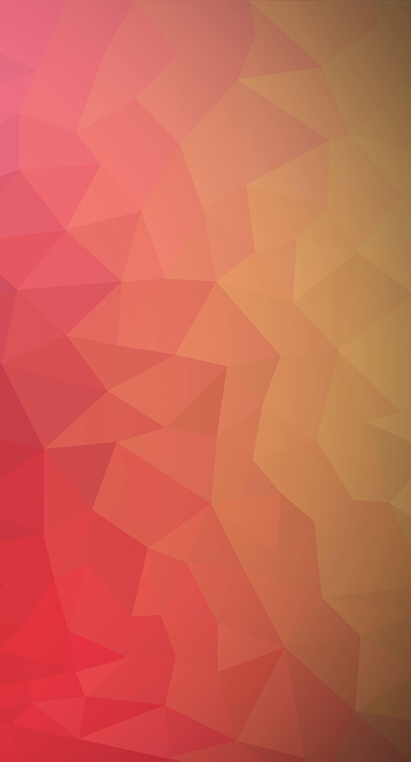 Pattern red peach orange cool iPhone7 Plus Wallpaper