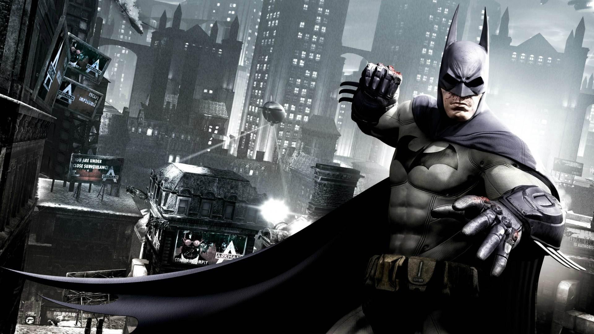 Batman Arkham Origins 1080p Wallpaper