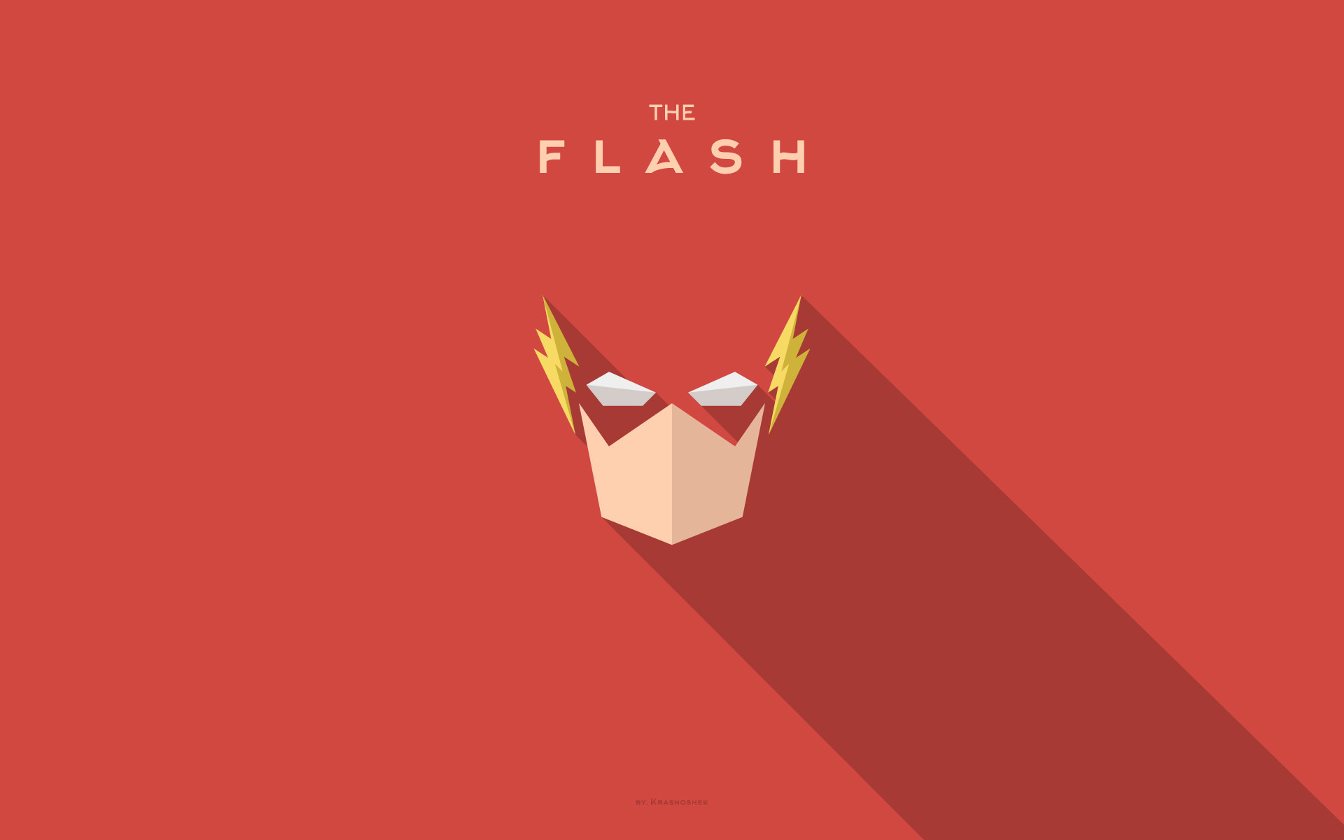 Awesome Flash Wallpaper. Link To More Sizes In Comments.