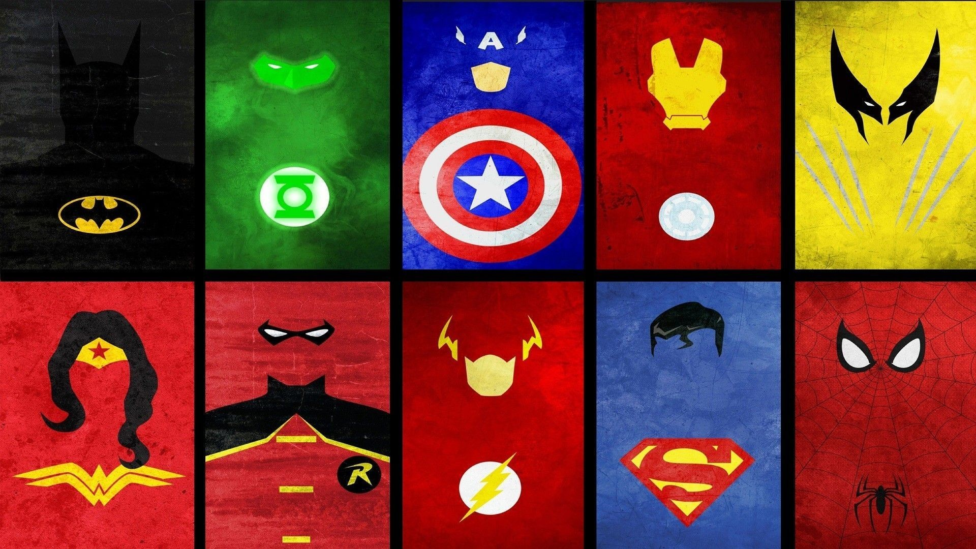 The Flash Symbol Wallpaper