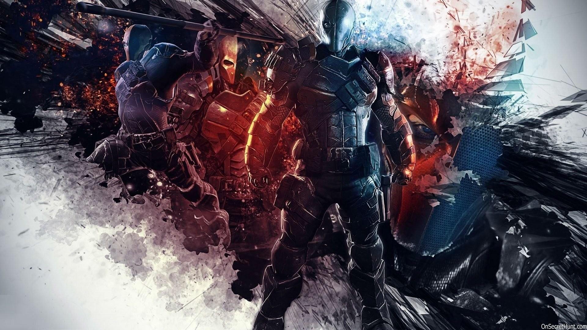 HD Wallpaper | Background ID:609298. Comics Deathstroke