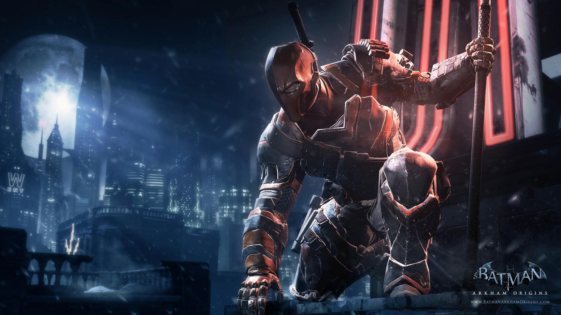 Batman: Arkham Origins Deathstroke and Firefly HD Wallpapers Â« Pop .