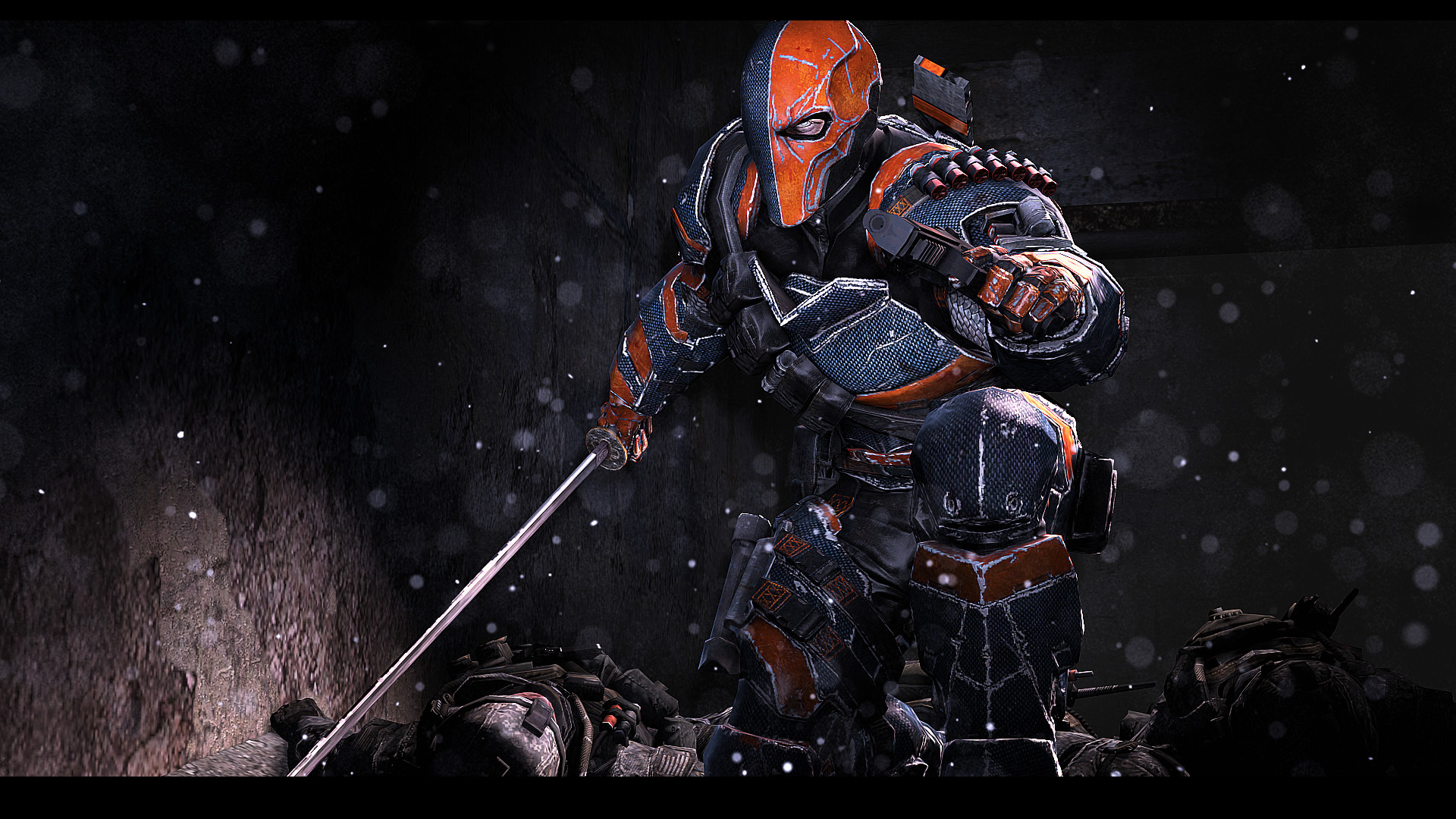 Bug Bunny without invincibility vs Deathstroke (Prep battle .