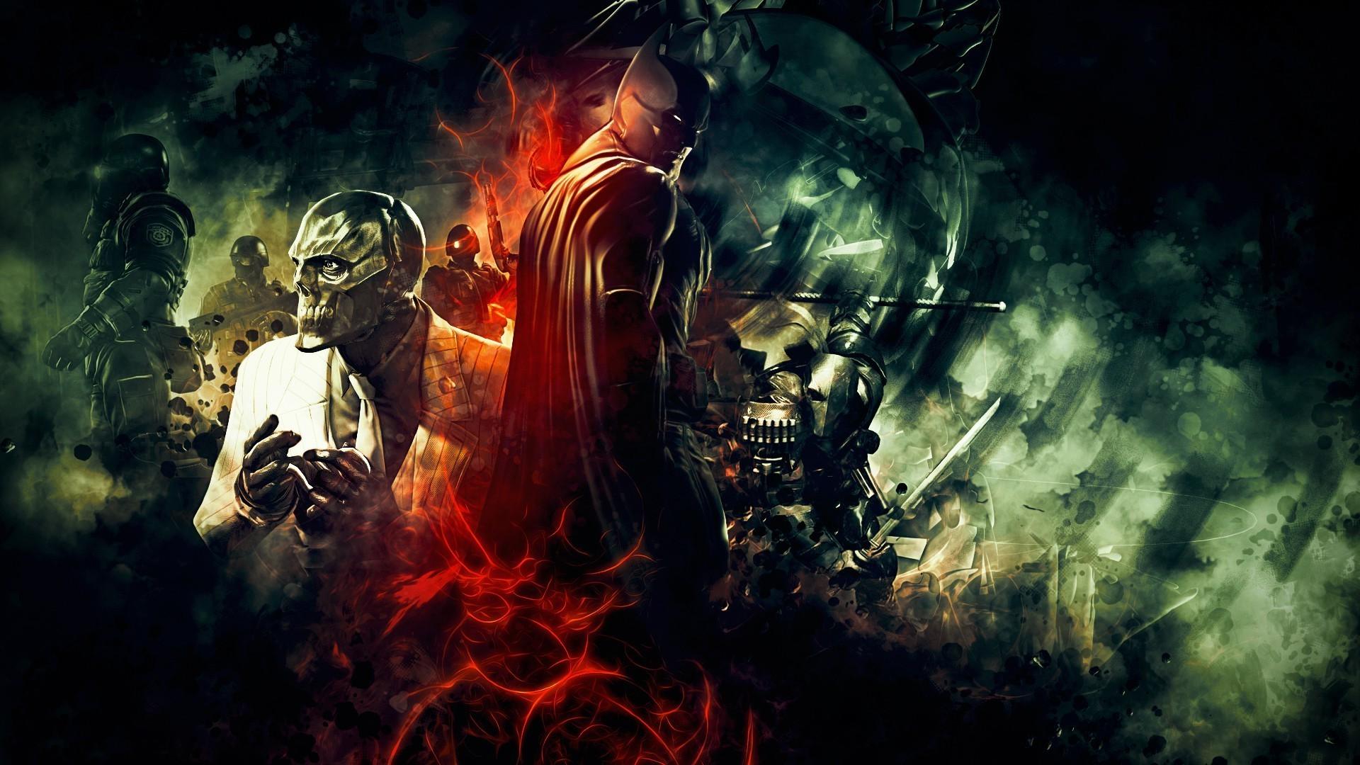video Games, Batman: Arkham Origins, Batman, Black Mask, Deathstroke  Wallpapers HD / Desktop and Mobile Backgrounds