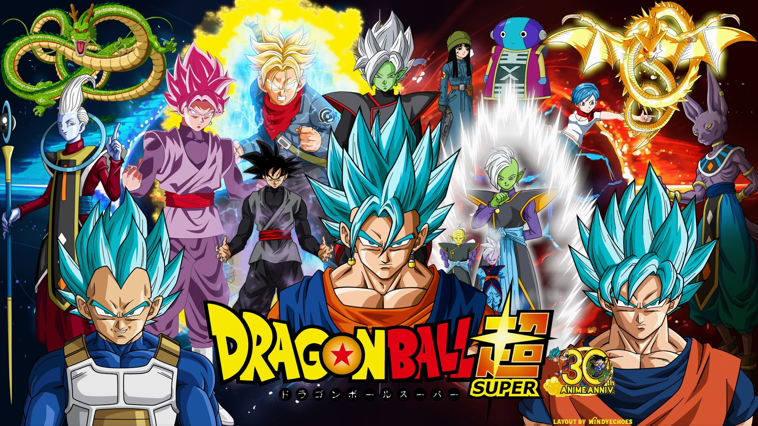 … Dragon Ball Super Goku Mai Zamasu · HD Wallpaper | Background ID:772377