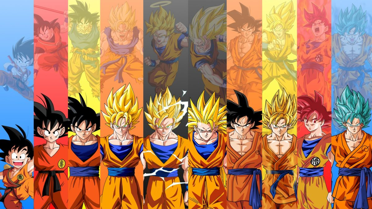 Anime Dragon Ball Super Goku Super Saiyan 3 Wallpaper Dragon