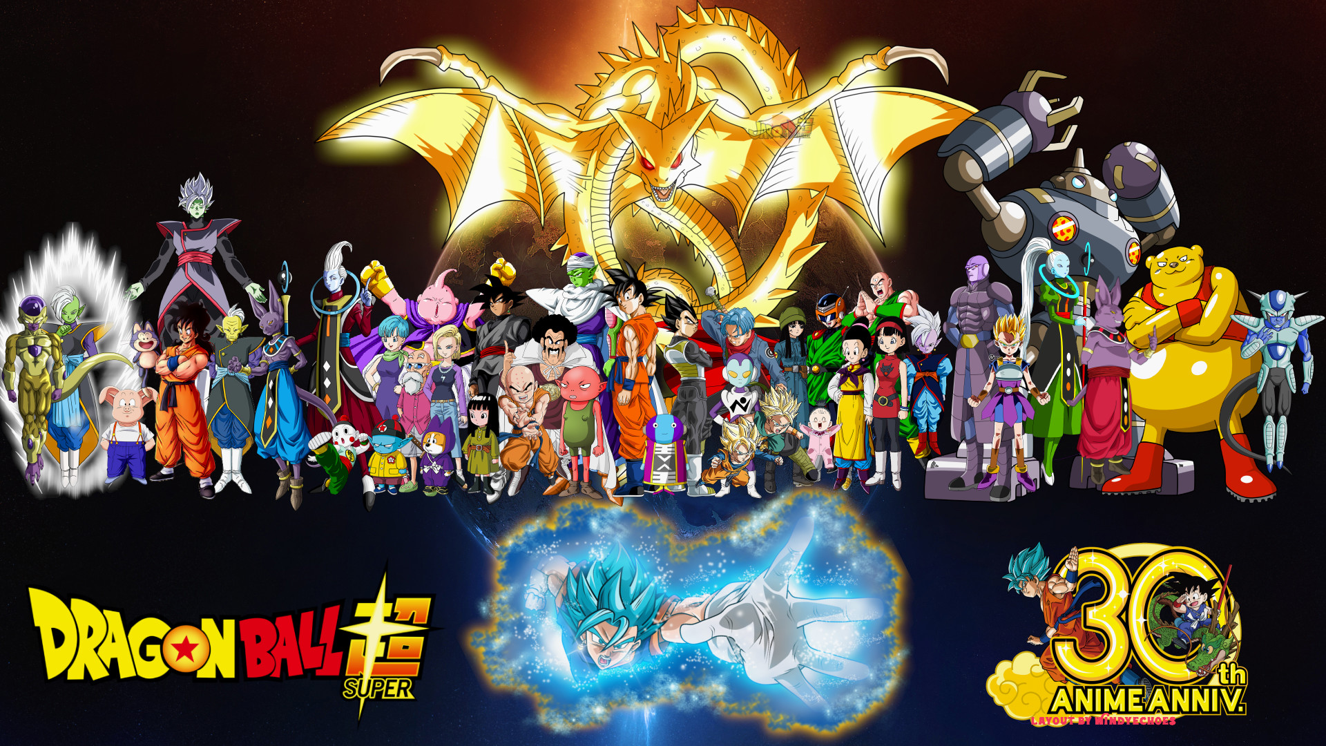 Anime – Dragon Ball Super Zarama (Dragon Ball) Goku SSGSS Goku Frieza ( Dragon