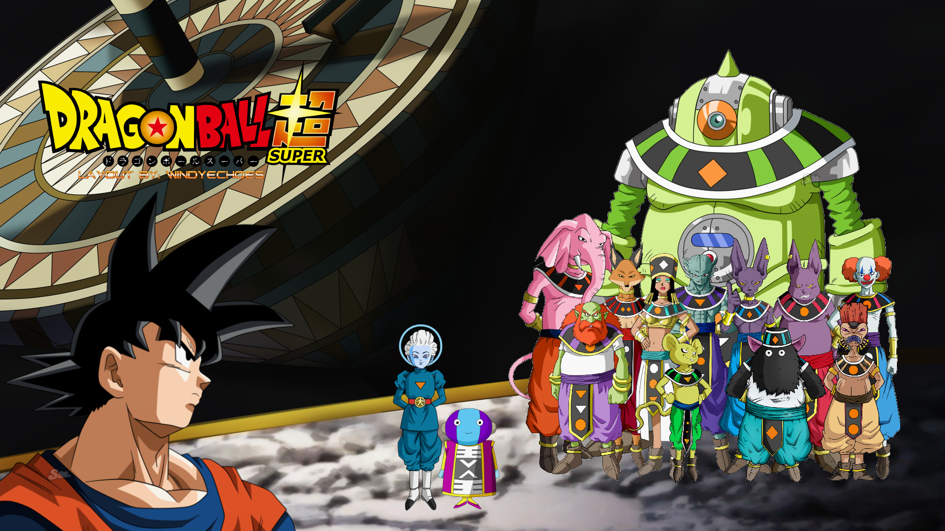 … Dragon Ball Super Wallpaper – Tournament of Power by WindyEchoes